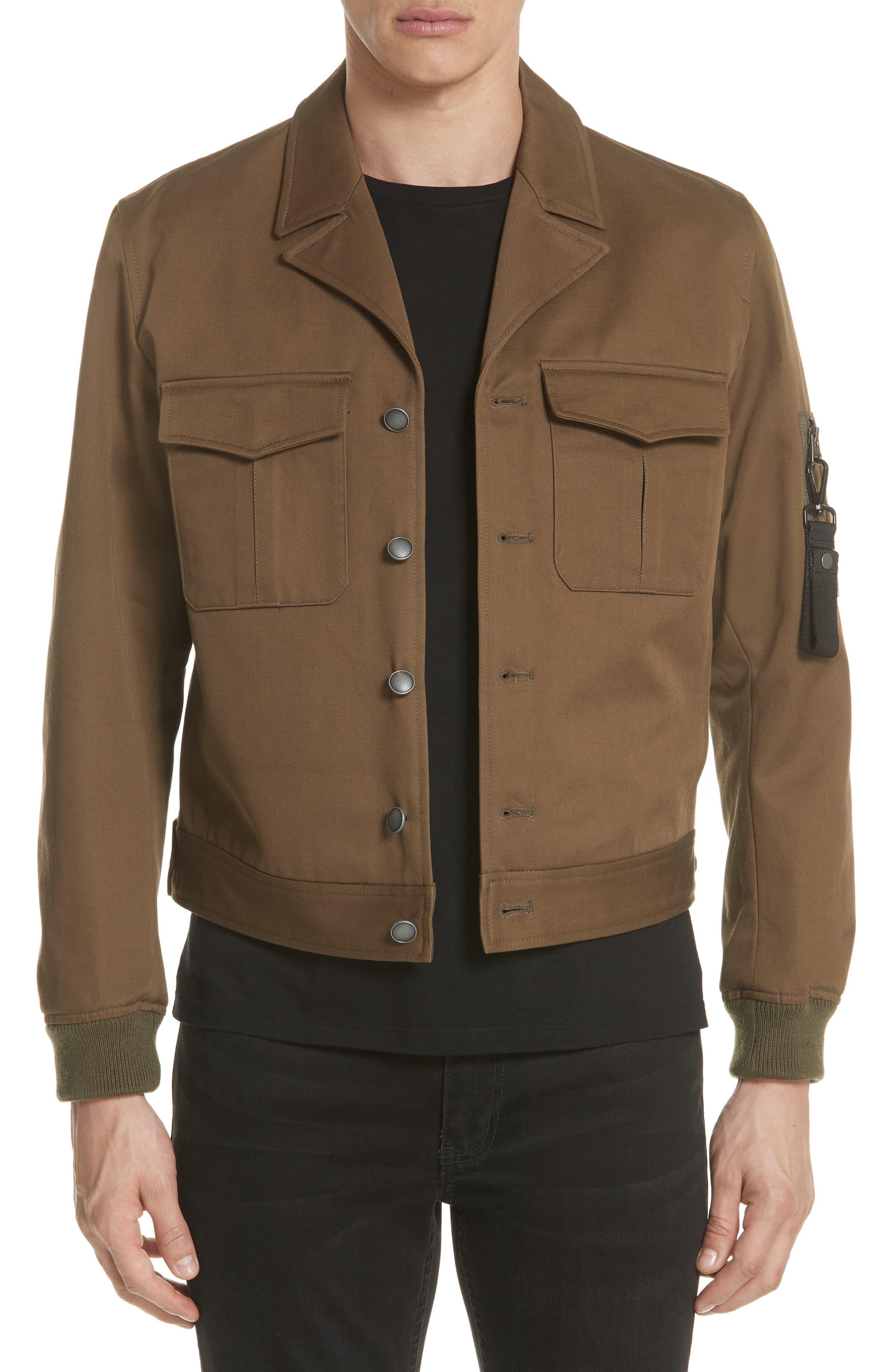 The Kooples Military Bomber Jacket