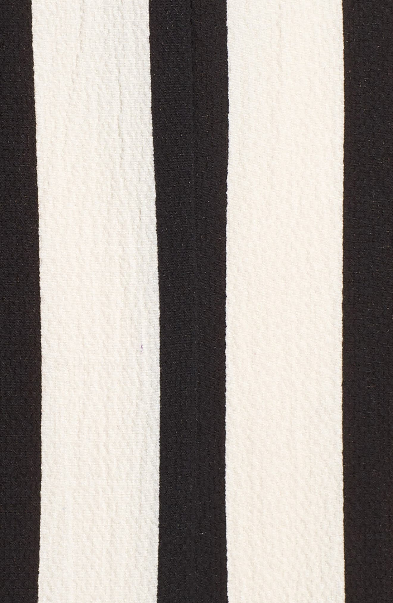 Stripe Jumpsuit,                             Alternate thumbnail 6, color,                             Blue-Black