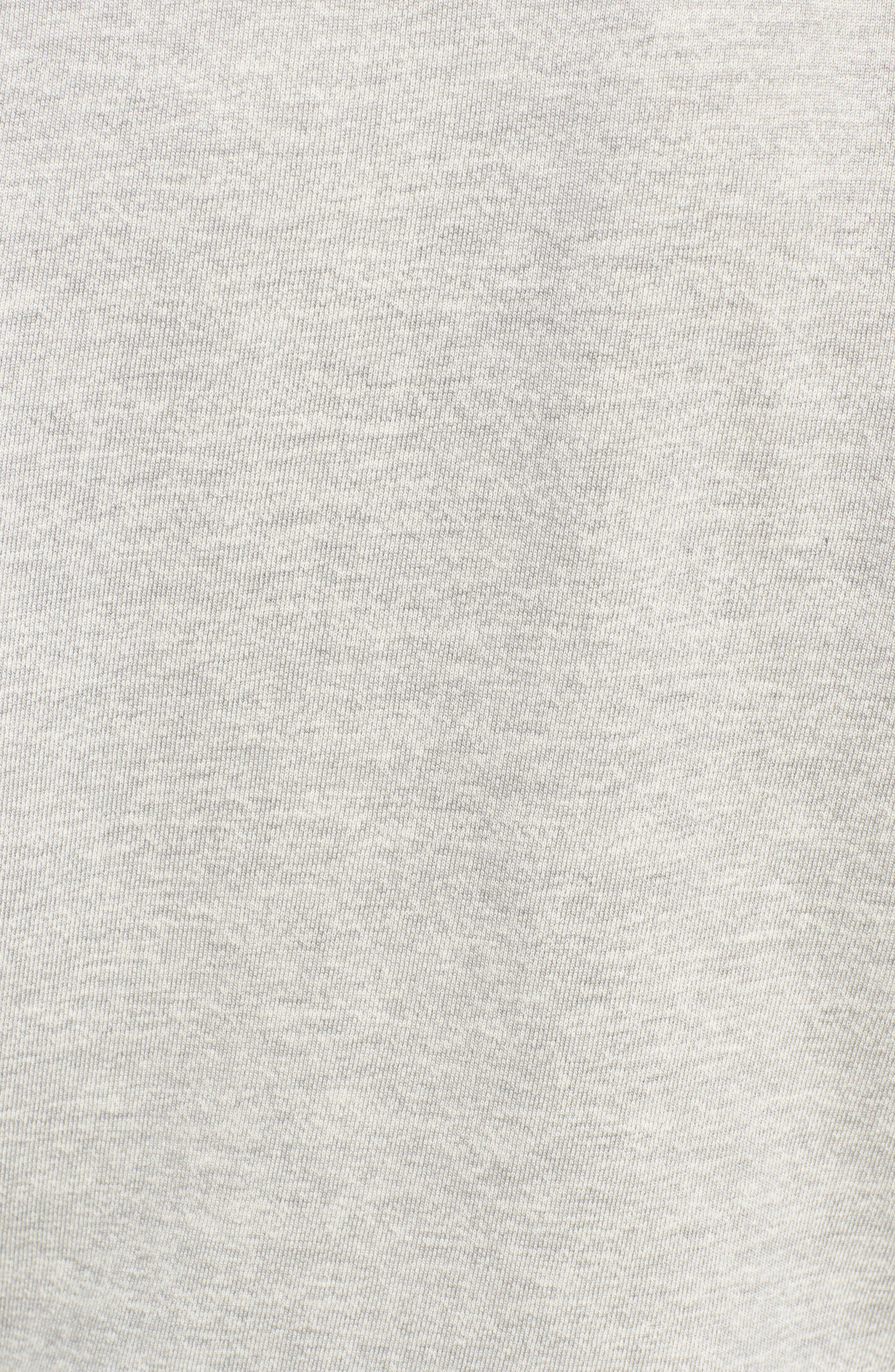 Colorblock Terry Sweatshirt,                             Alternate thumbnail 6, color,                             Heather Grey