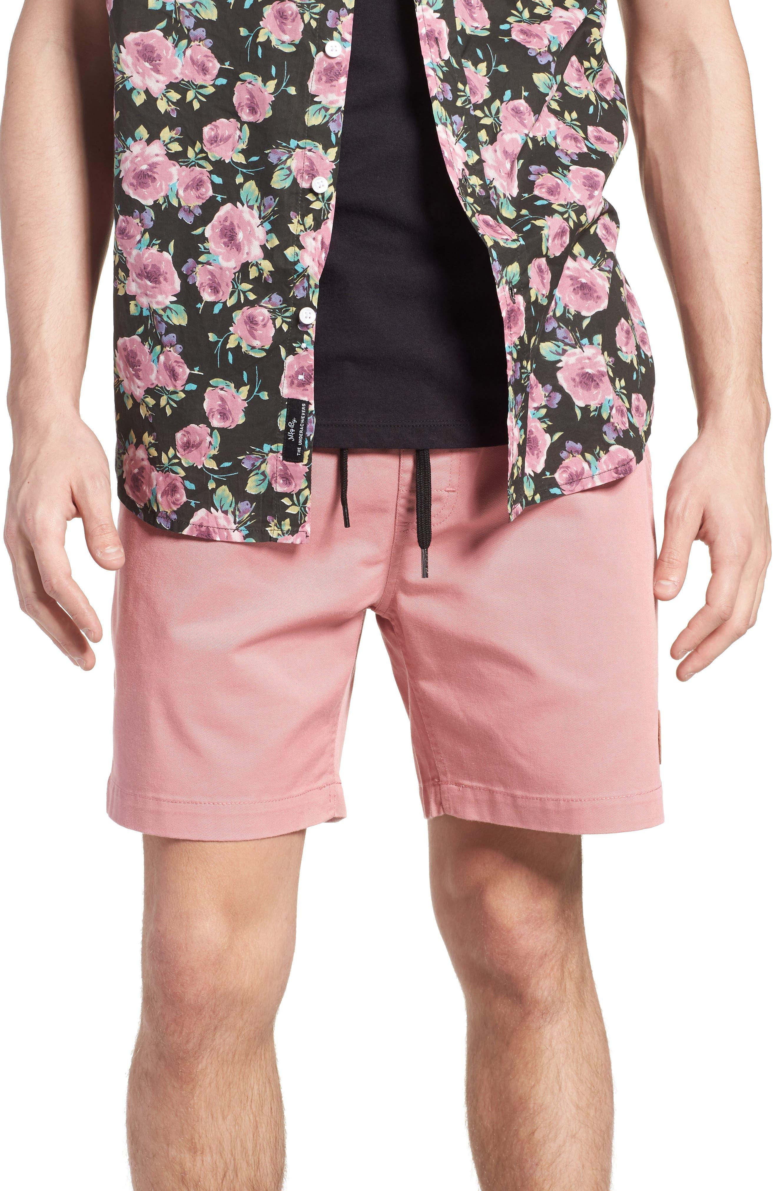 Seeker Shorts,                         Main,                         color, Light Pink