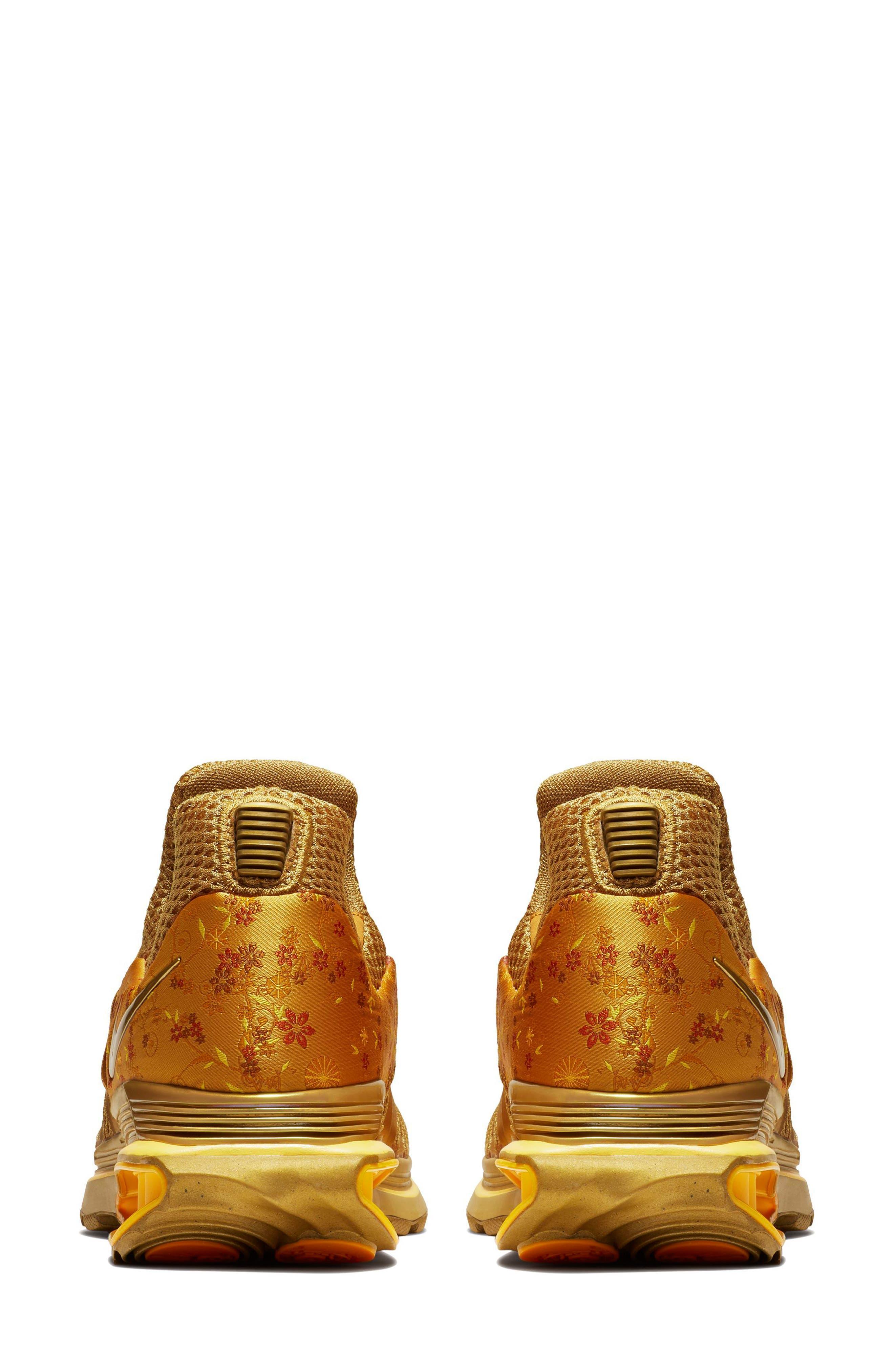 Shox Gravity Sneaker,                             Alternate thumbnail 2, color,                             Metallic Gold/ Metallic Gold