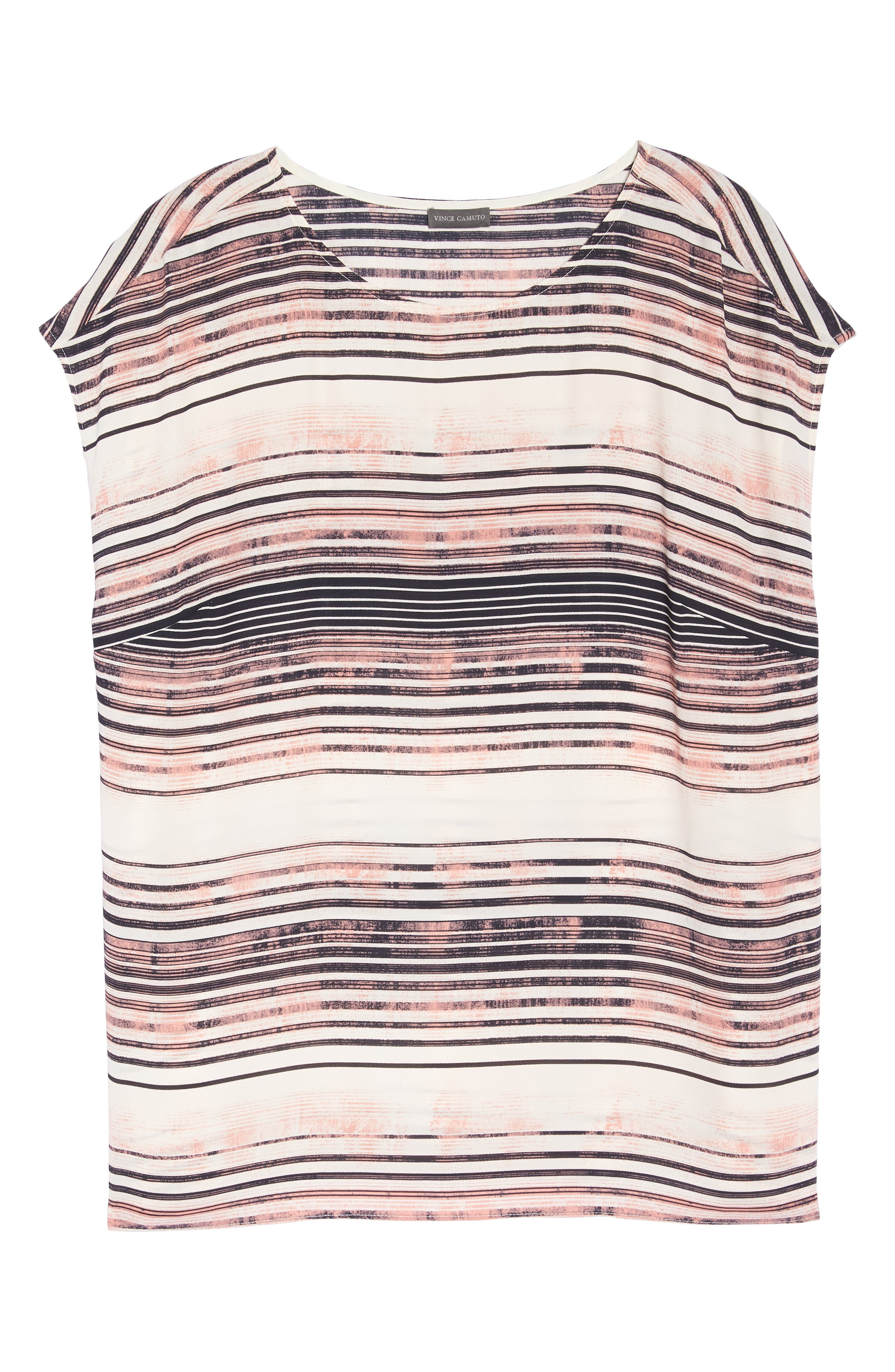 Ancient Muses Stripe Top,                             Alternate thumbnail 7, color,                             Rich Cream
