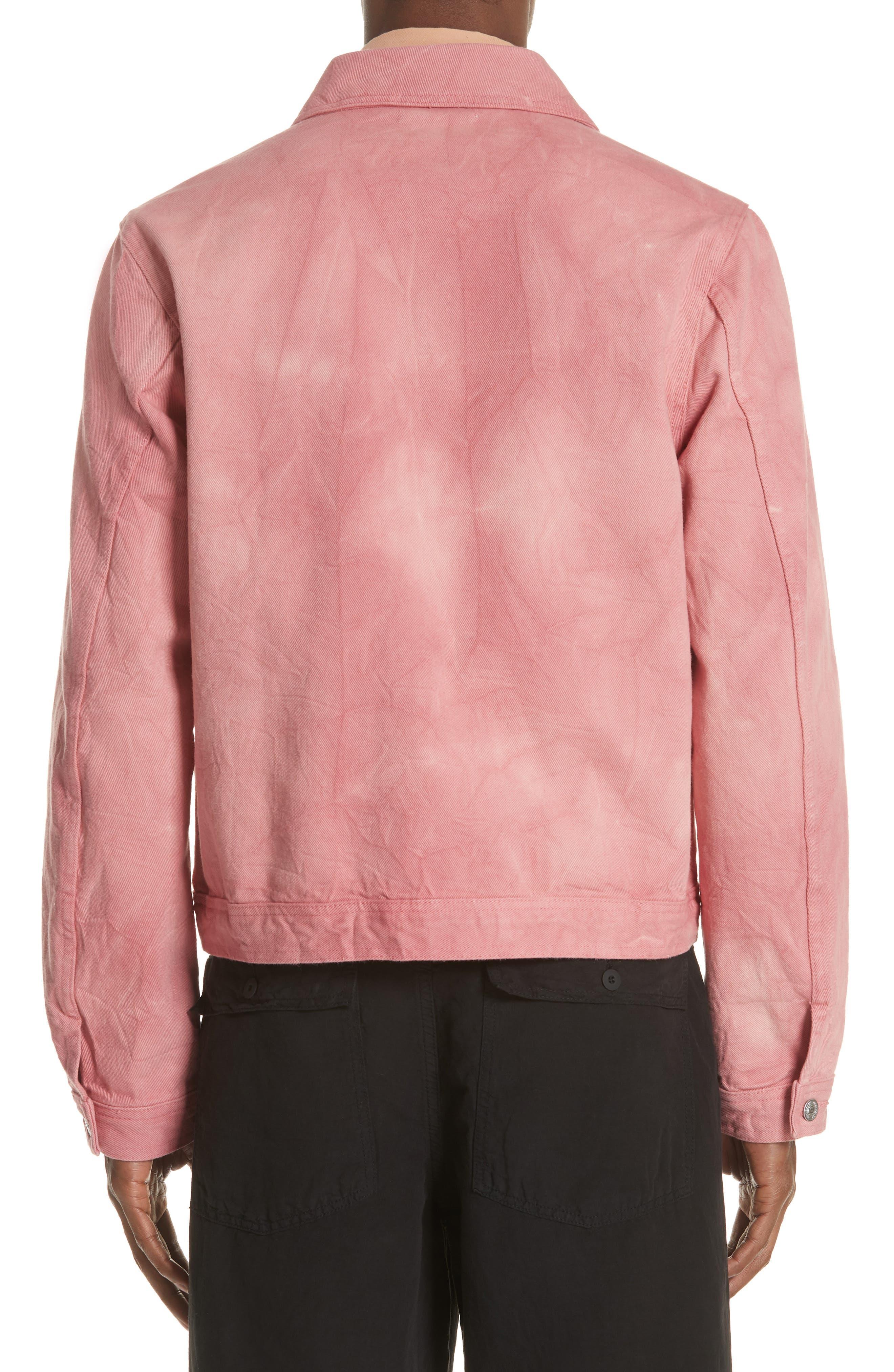 Dye Jacket,                             Alternate thumbnail 2, color,                             Pink