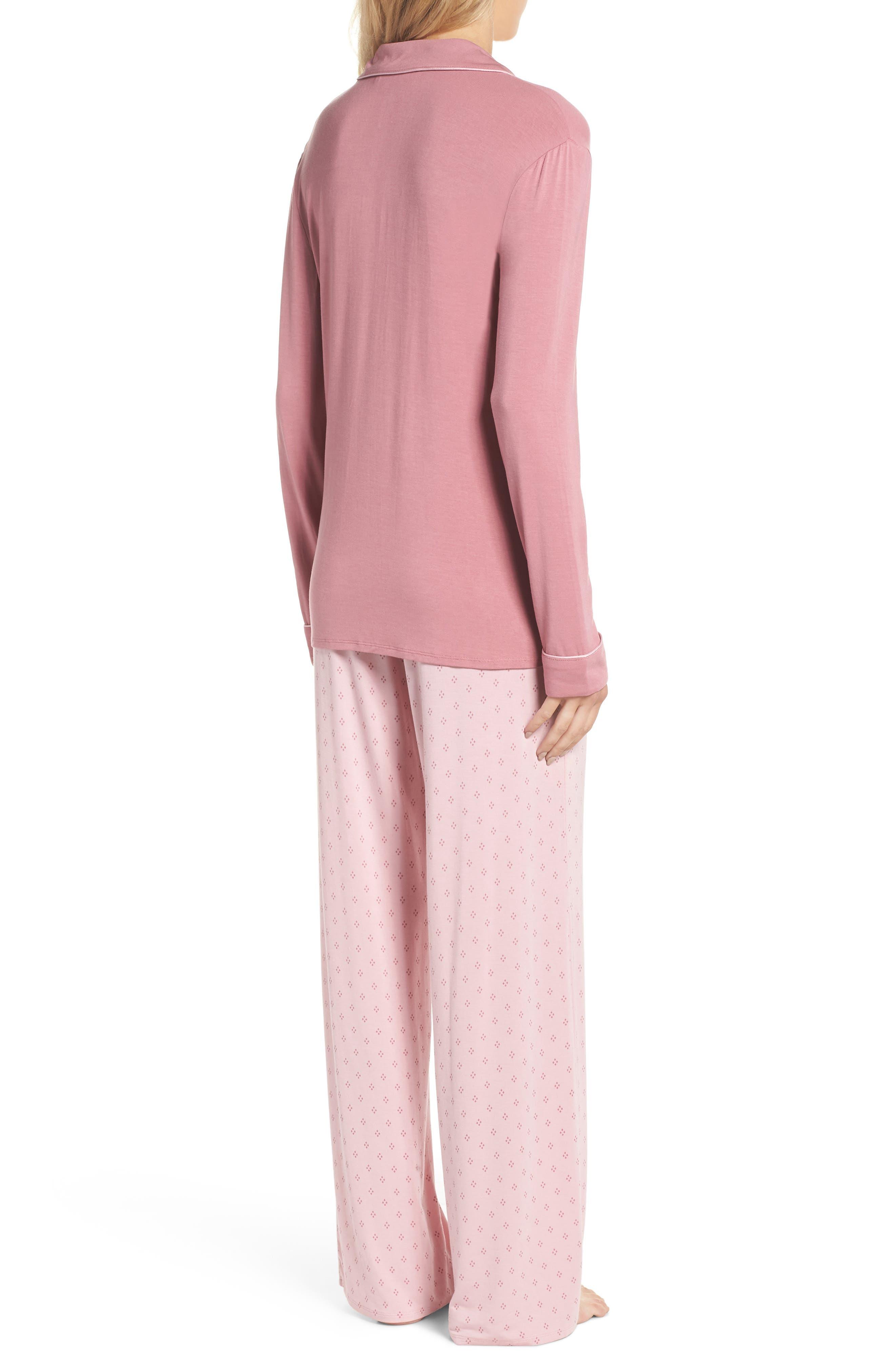 Moonlight Pajamas,                             Alternate thumbnail 2, color,                             Purple Mesa Geo Diamond