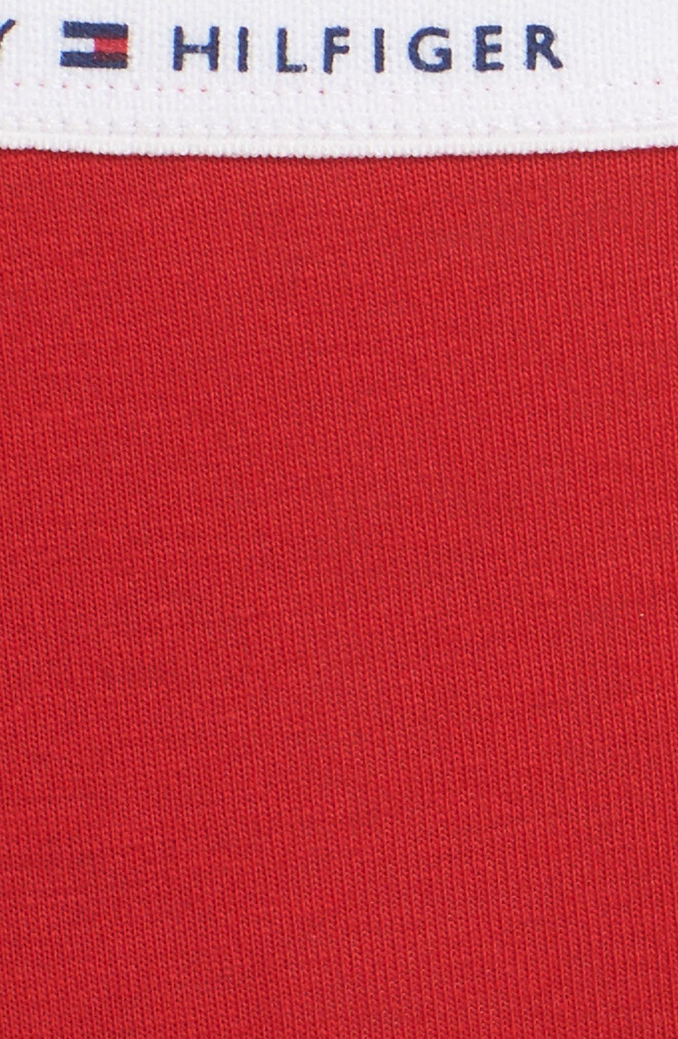 Logo Bikini,                             Alternate thumbnail 6, color,                             Apple Red