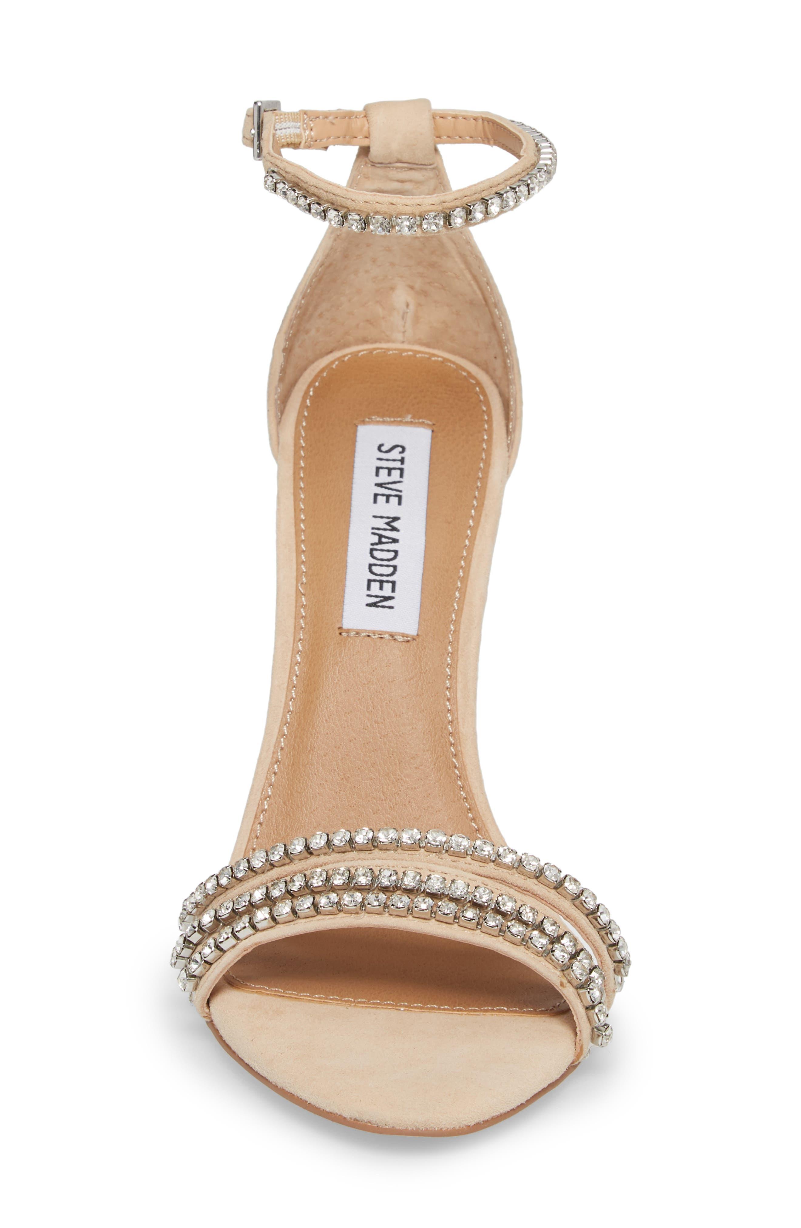 Sterling Embellished Sandal,                             Alternate thumbnail 4, color,                             Blush Multi