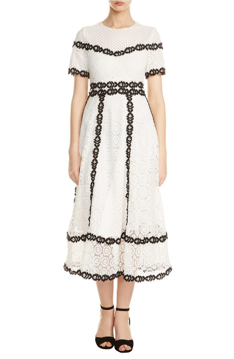 Maje Dresses ROWAN BICOLORE LACE DRESS