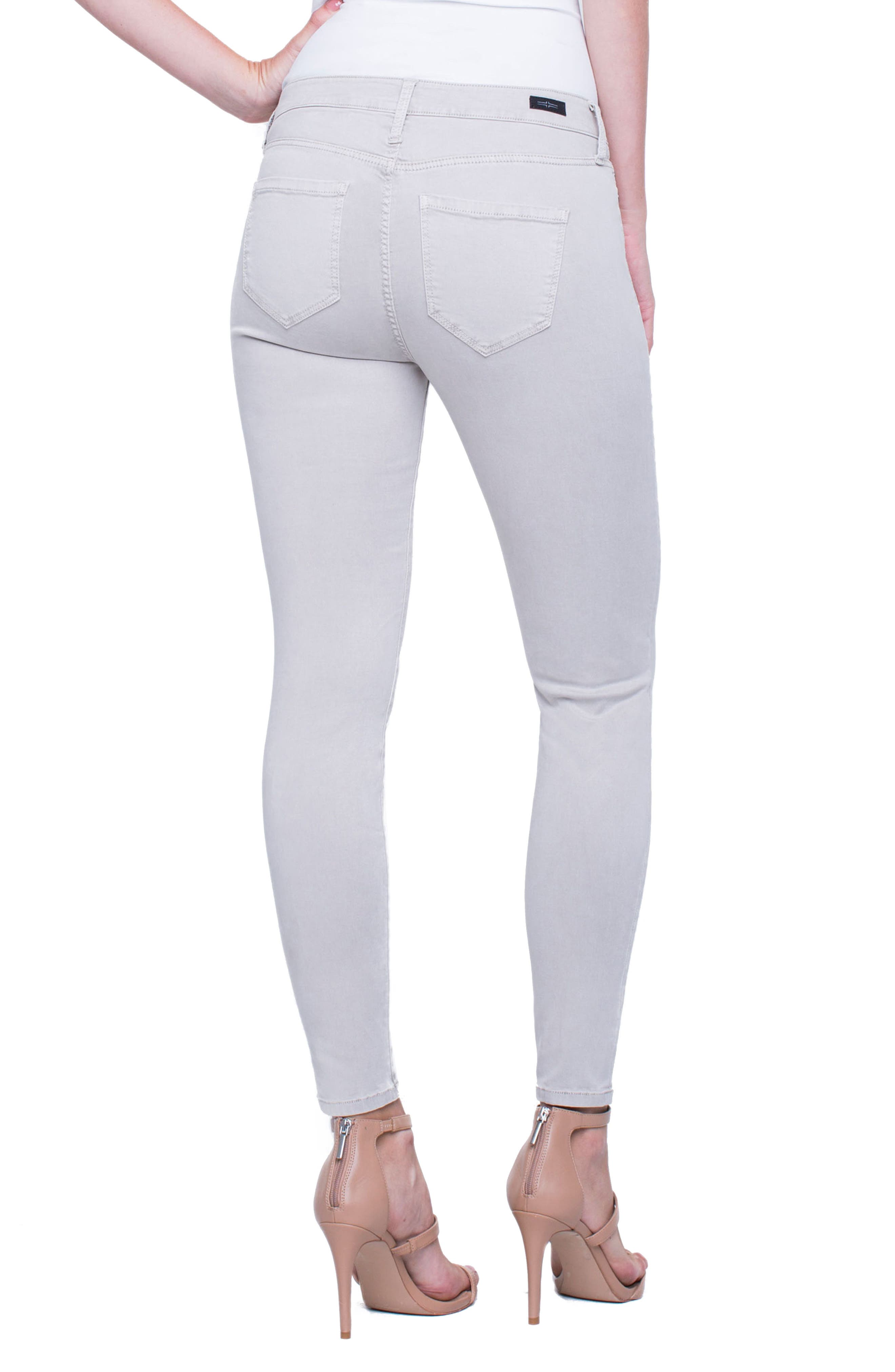 Madonna Ankle Jeans,                             Alternate thumbnail 2, color,                             Marble Ivory