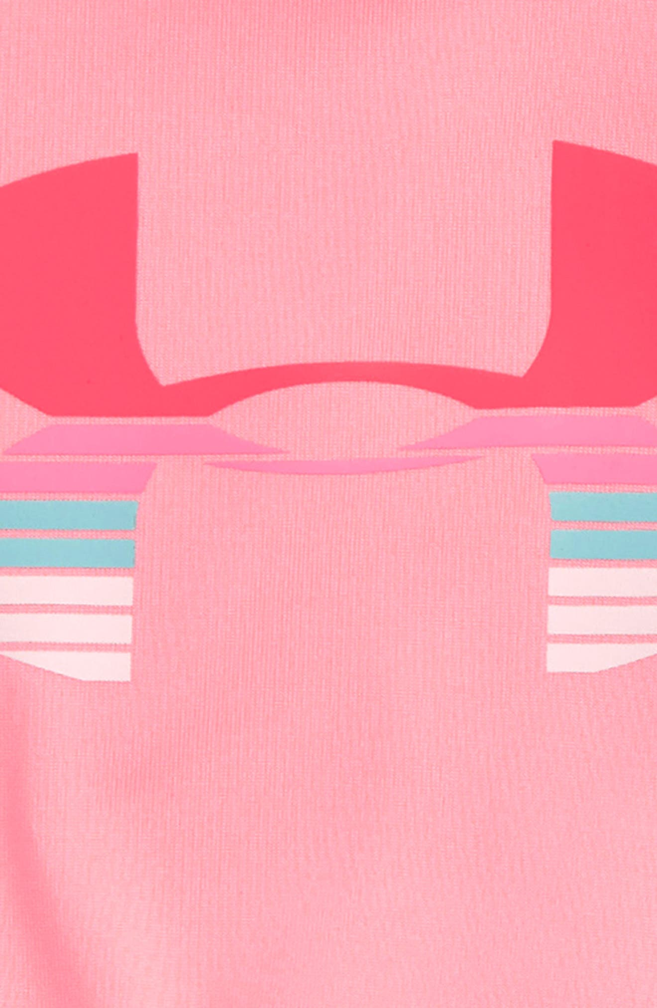 Scramble Logo HeatGear<sup>®</sup> Tank & Mesh Shorts Set,                             Alternate thumbnail 2, color,                             Pop Pink