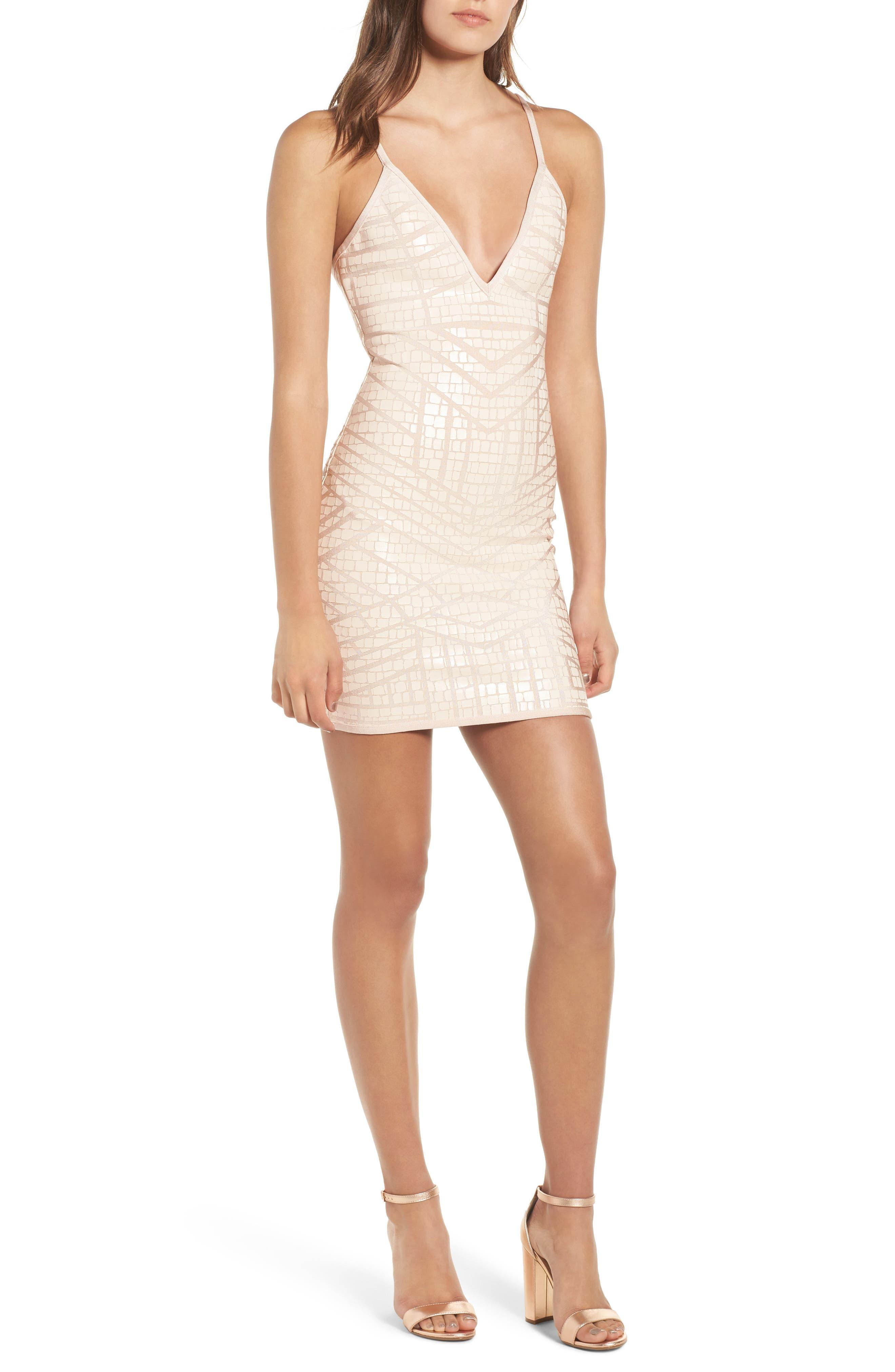 Sentimental NY Bandage Body-Con Dress