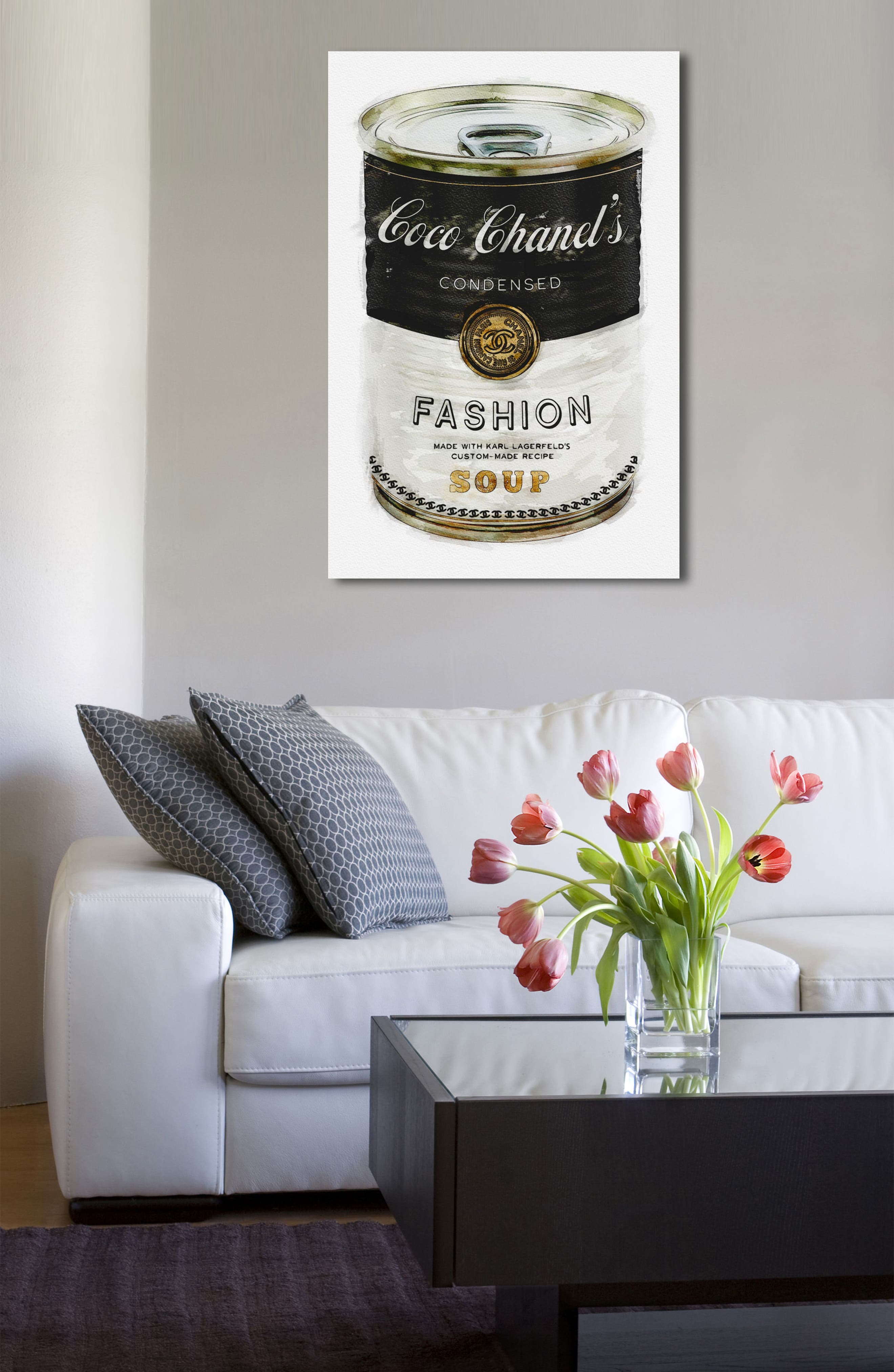 Alternate Image 4  - Oliver Gal Fashion Soup Canvas Wall Art