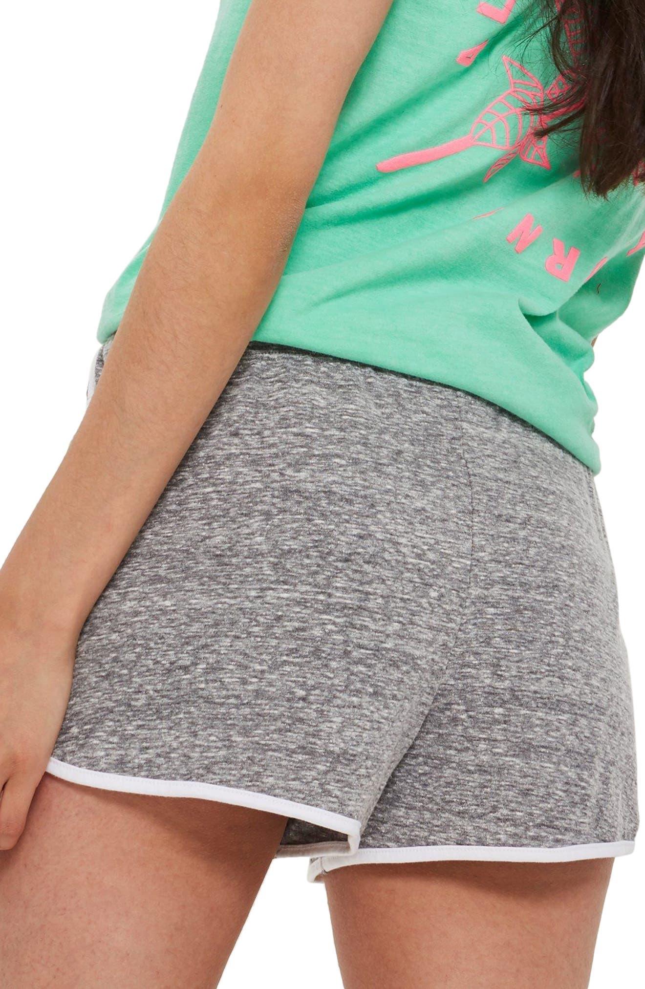 Alternate Image 2  - Topshop Nep Runner Shorts