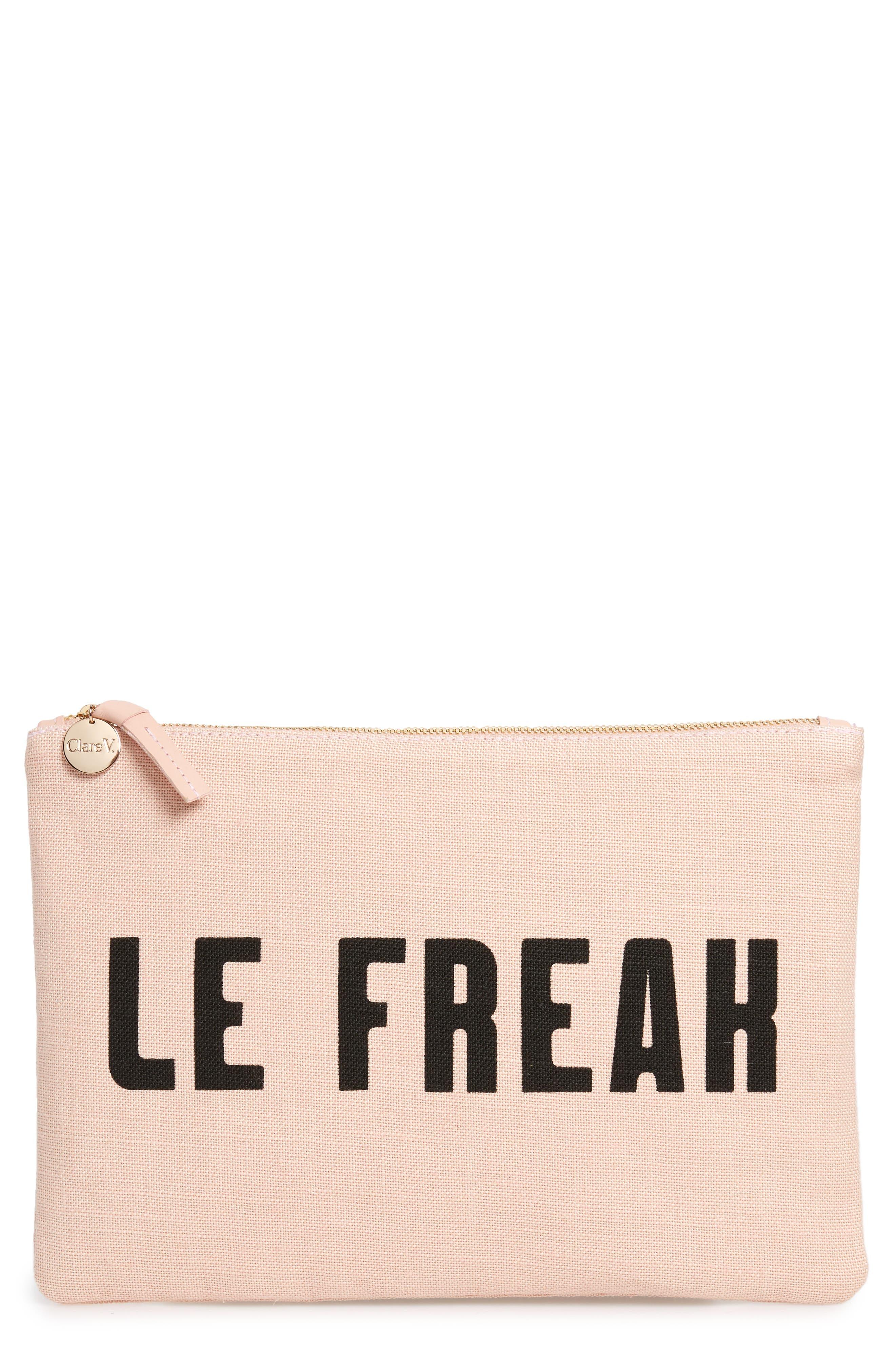 Clare V. Le Freak Flat Clutch