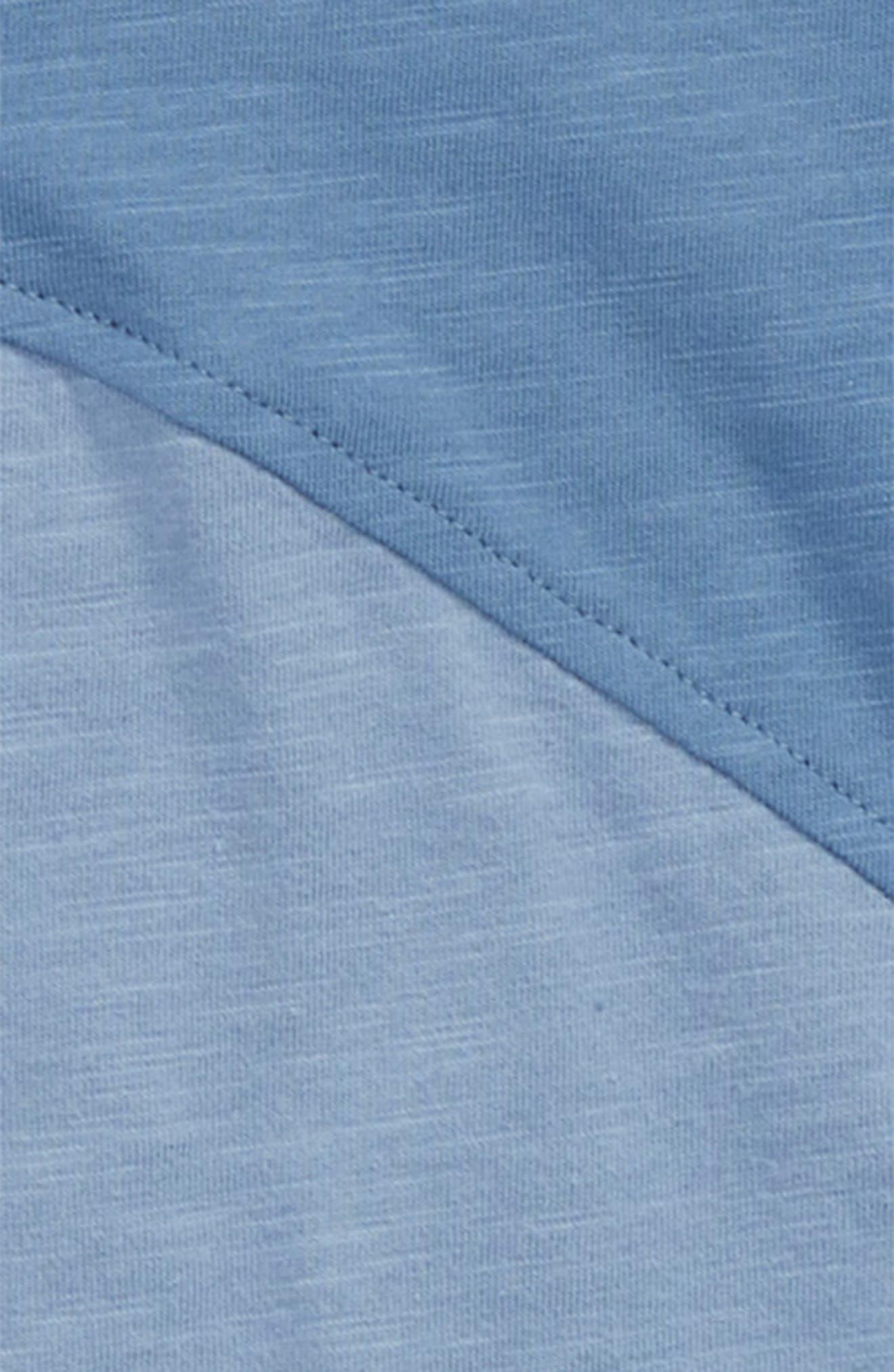 Diagonal Washed T-Shirt,                             Alternate thumbnail 2, color,                             Blue Moonlight- Blue