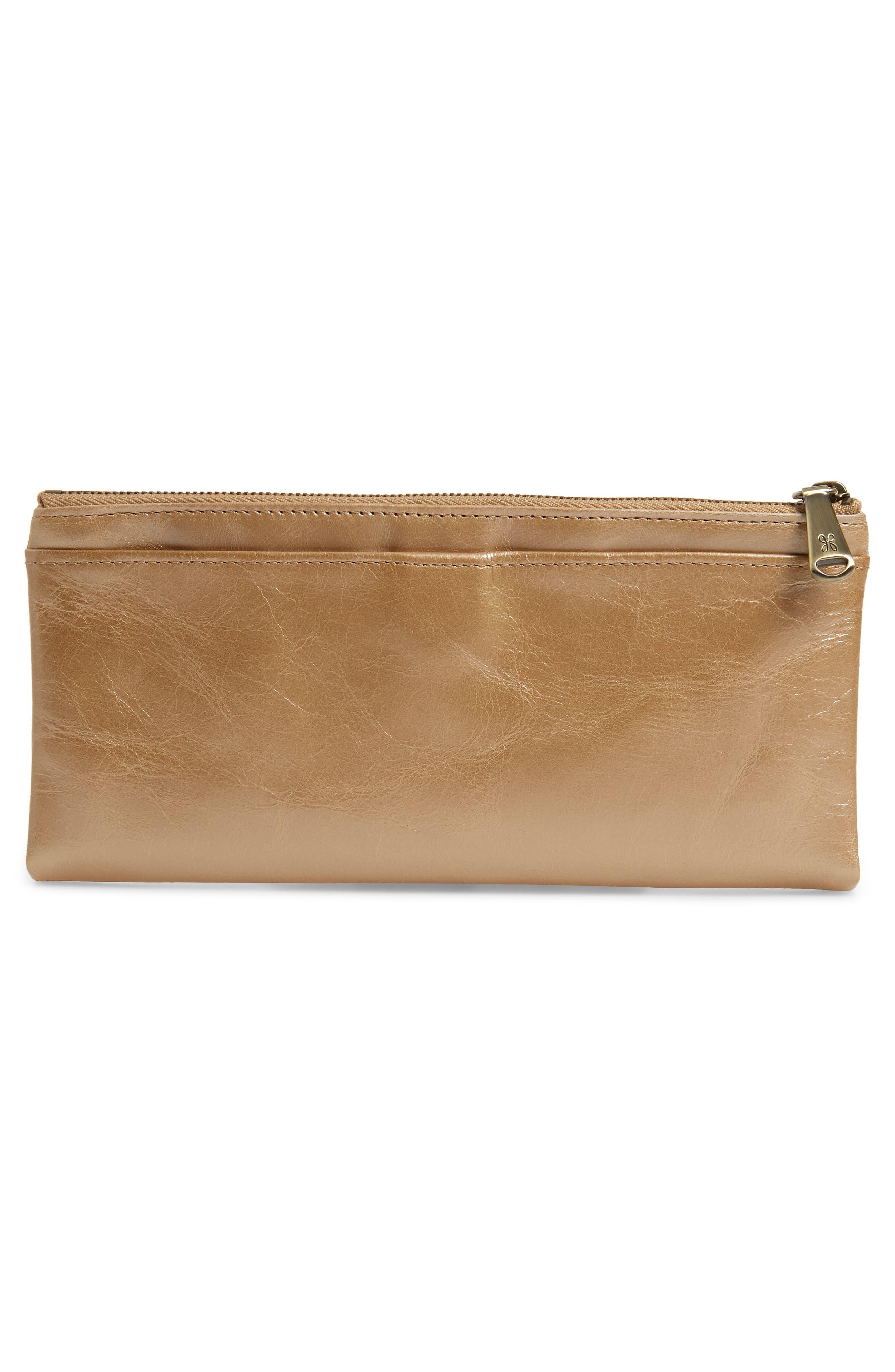 Alternate Image 4  - Hobo 'Taylor' Glazed Leather Wallet