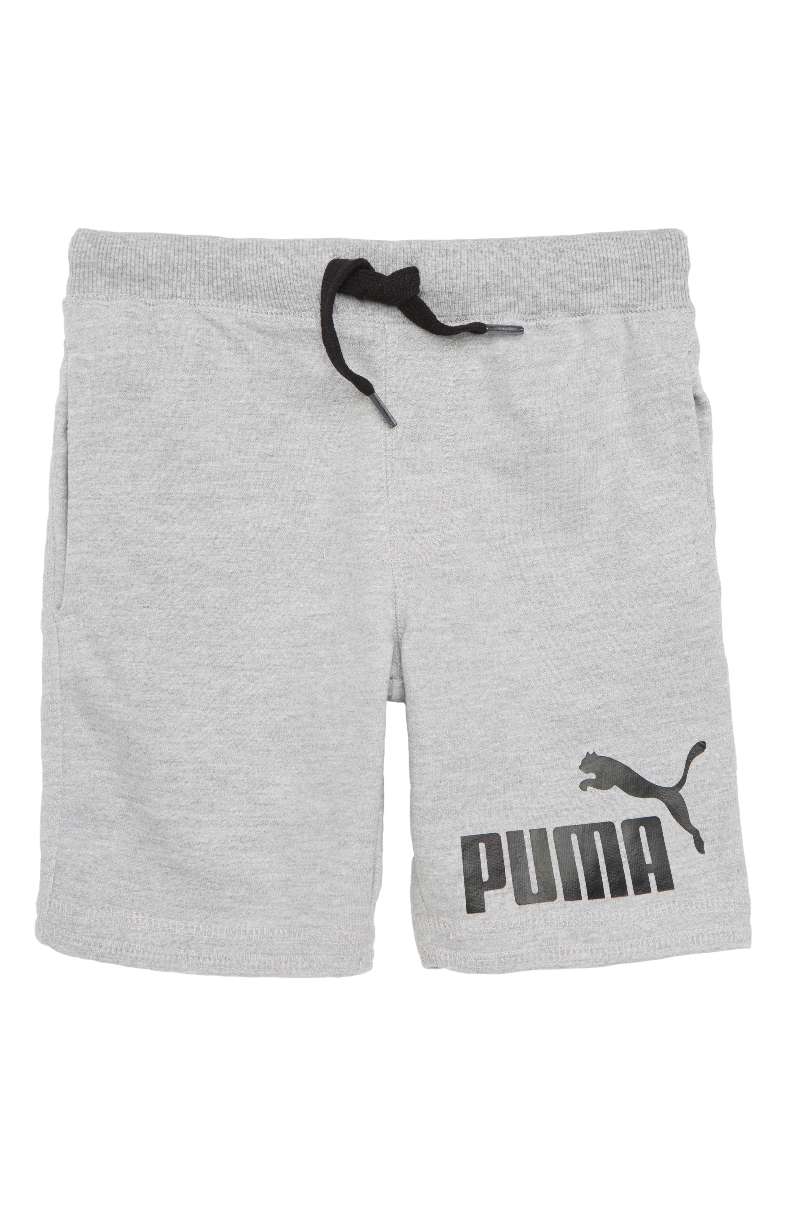 PUMA Stock Terry Shorts (Big Boys)