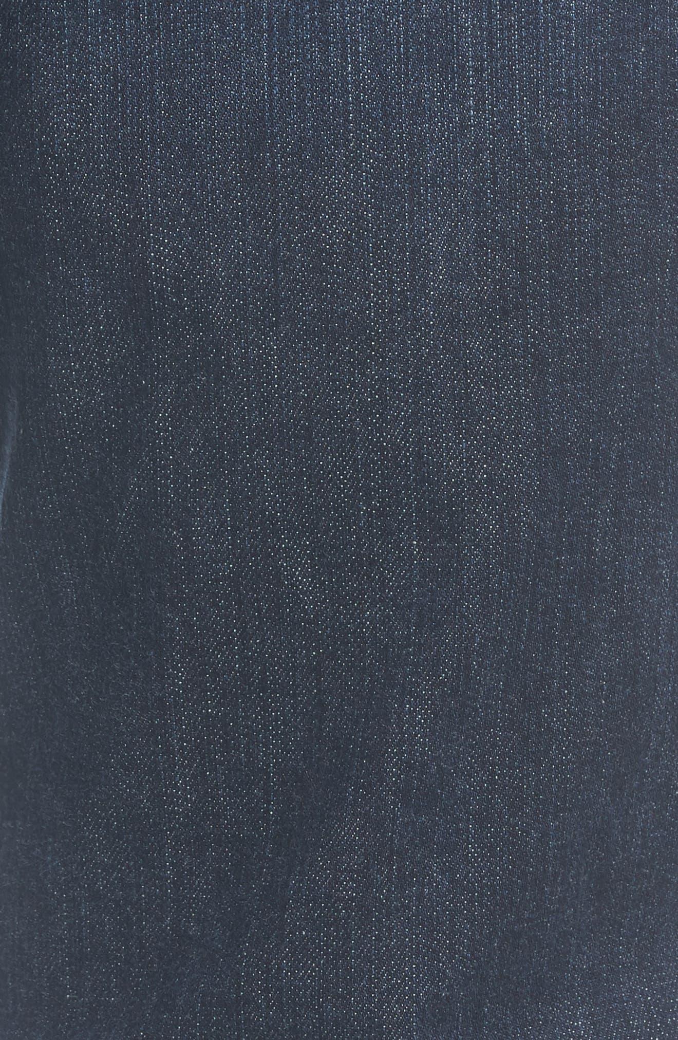 Transcend - Lennox Slim Fit Jeans,                             Alternate thumbnail 5, color,                             Hestan