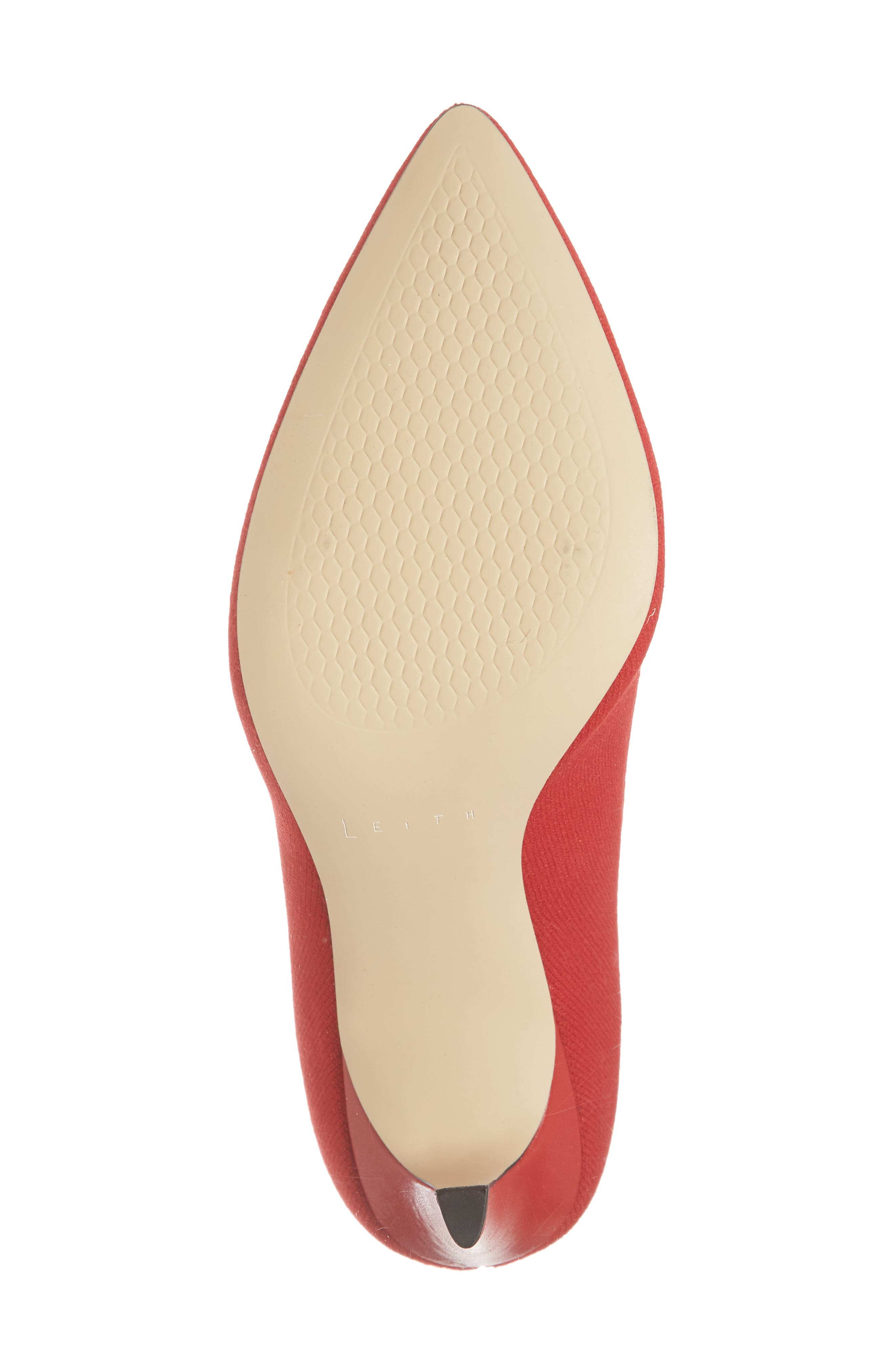 Finn Sock Bootie,                             Alternate thumbnail 6, color,                             Red Stretch