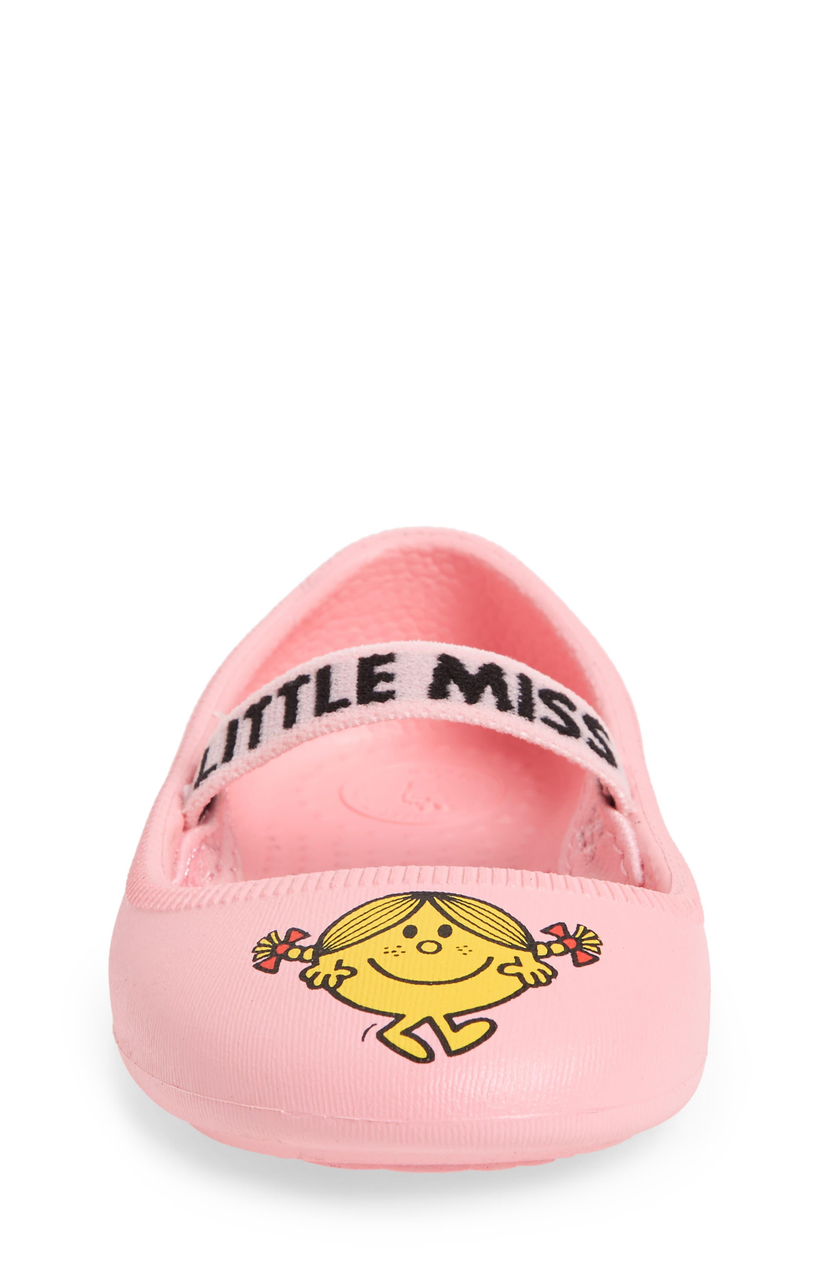 Margot Mary Jane Flat,                             Alternate thumbnail 5, color,                             Pink/ Little Miss Sunshine