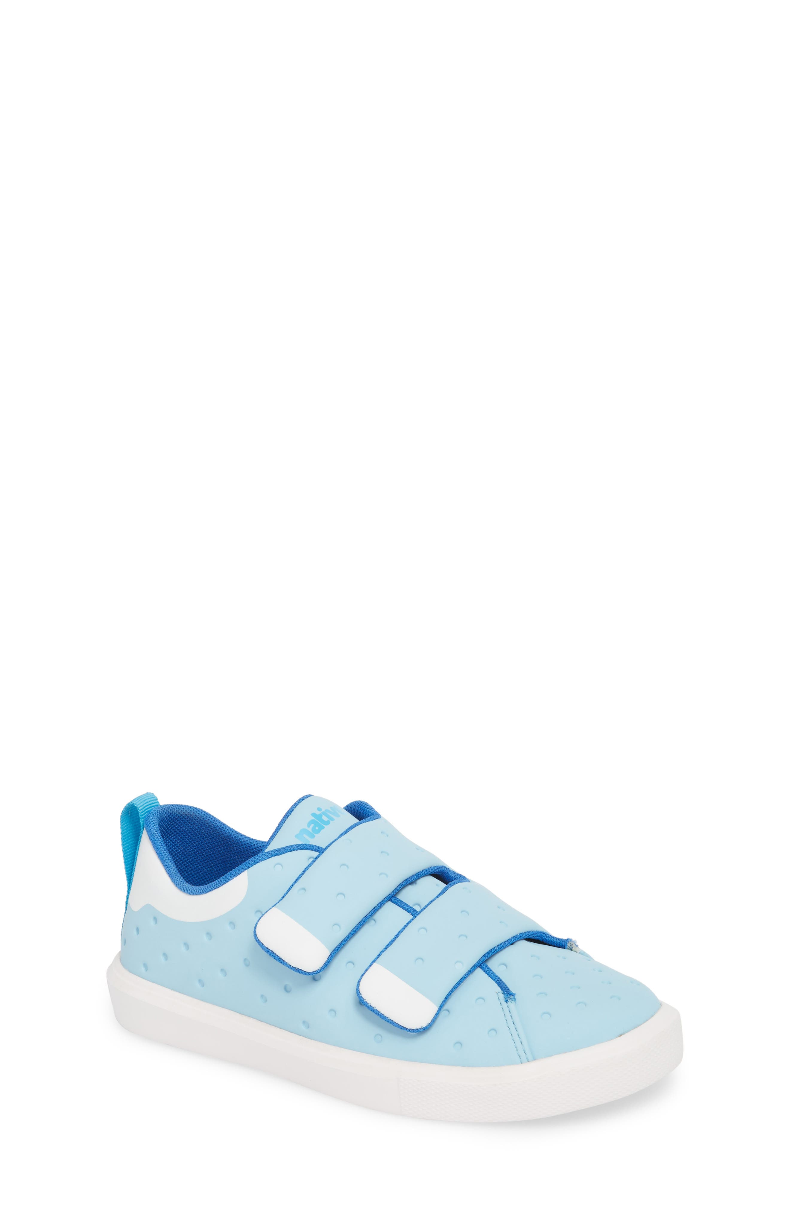 Monaco Sneaker,                             Main thumbnail 1, color,                             Sky Blue/ Shell White