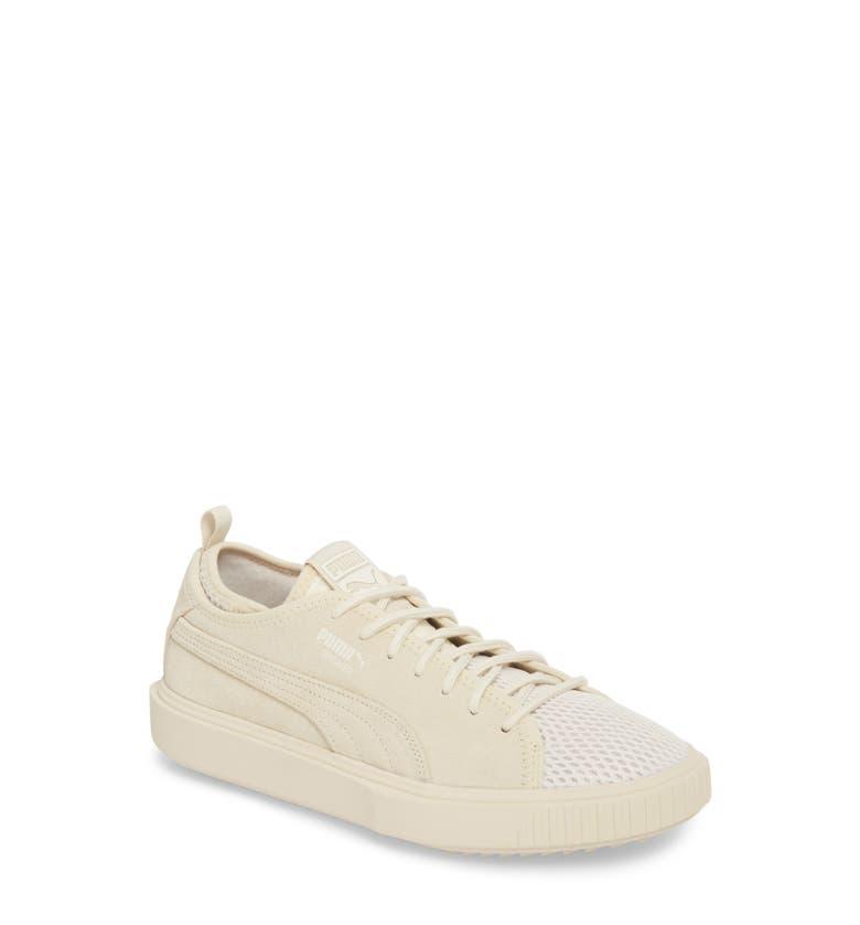 cb3d786ff81e72 Puma Men S Breaker Mesh Casual Sneakers From Finish Line In Birch ...