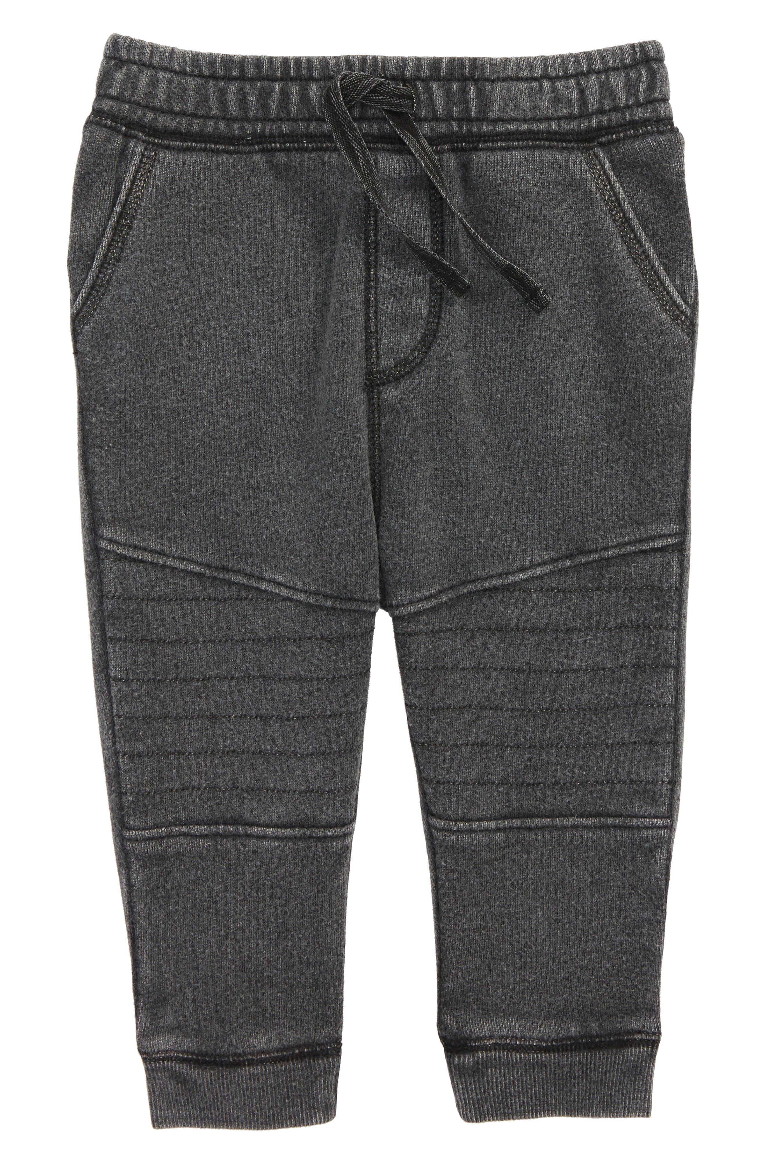 Moto Jogger Pants,                             Main thumbnail 1, color,                             Black