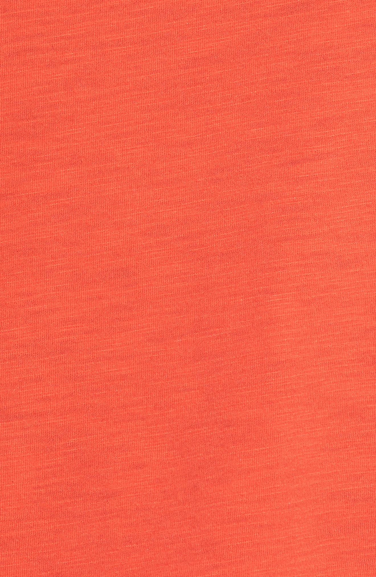 Football Tee,                             Alternate thumbnail 5, color,                             Candy Red
