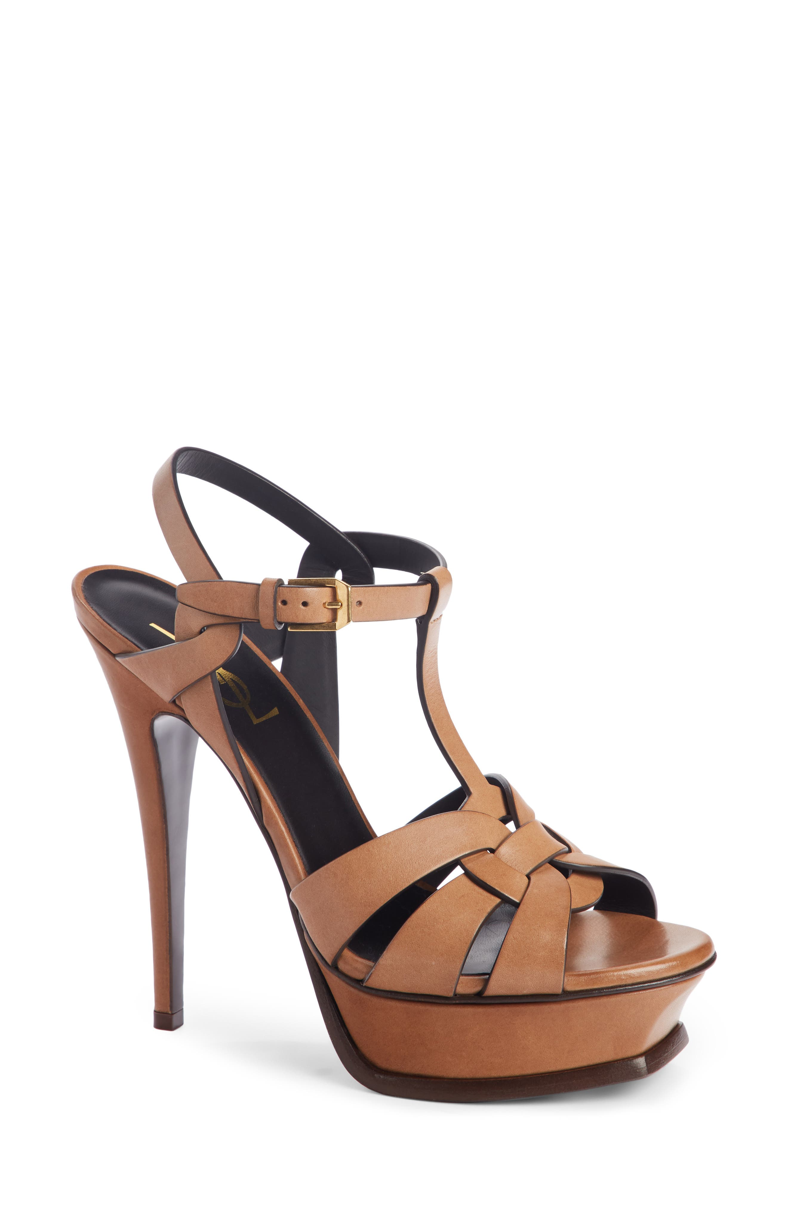 'Tribute' Sandal,                         Main,                         color, Beige Safari