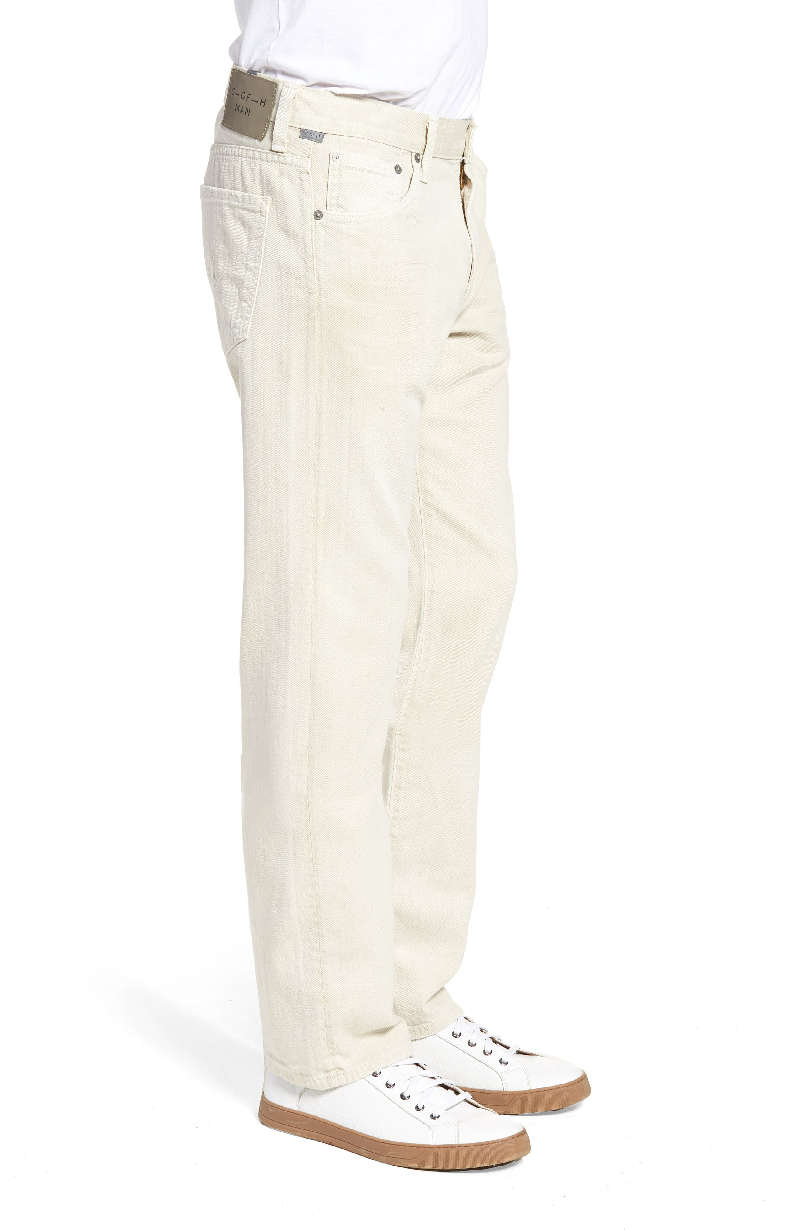 Sid Straight Fit Jeans,                             Alternate thumbnail 3, color,                             Fort