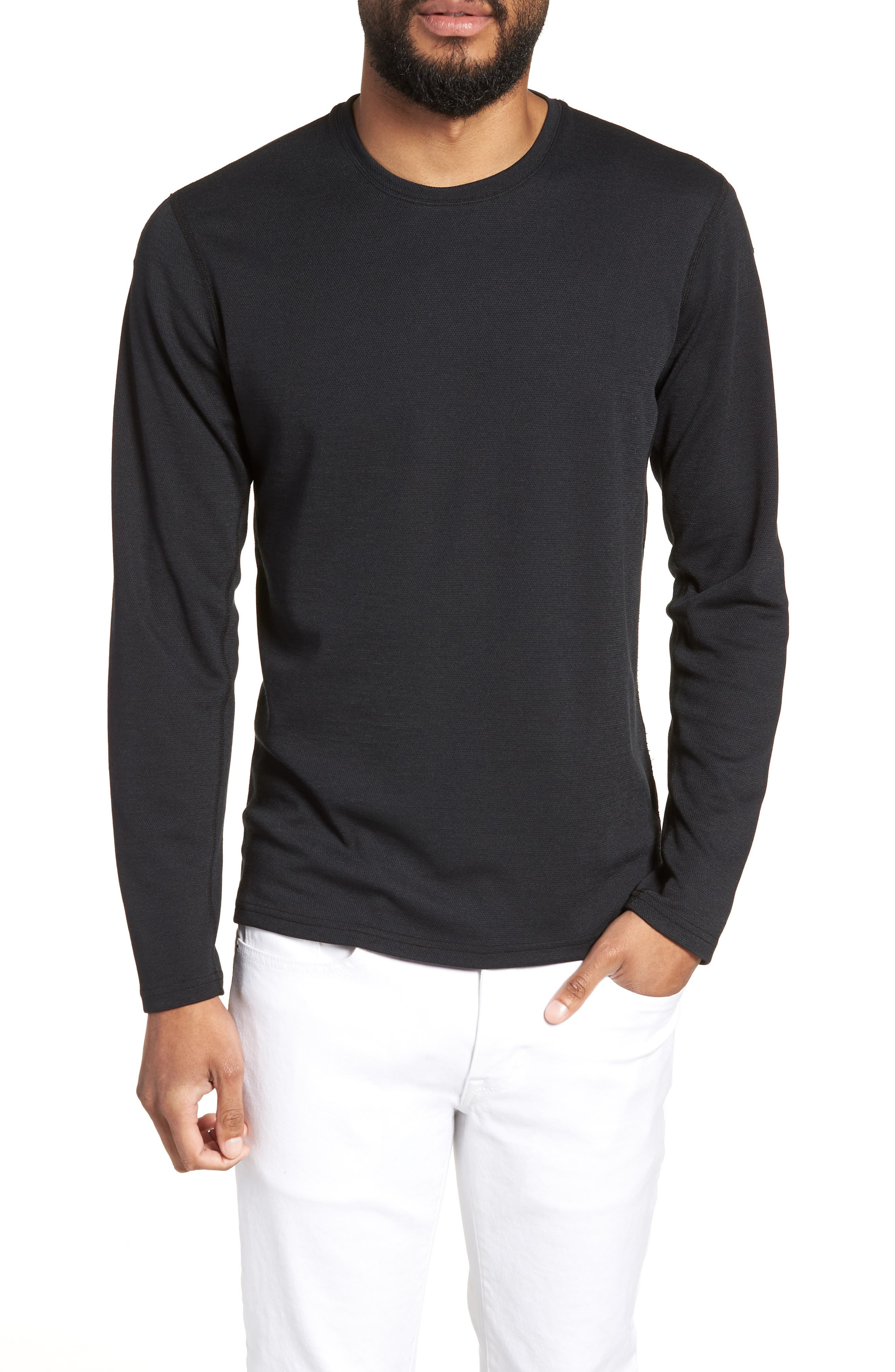 REIGNING CHAMP POWER DRY LONG SLEEVE SHIRT