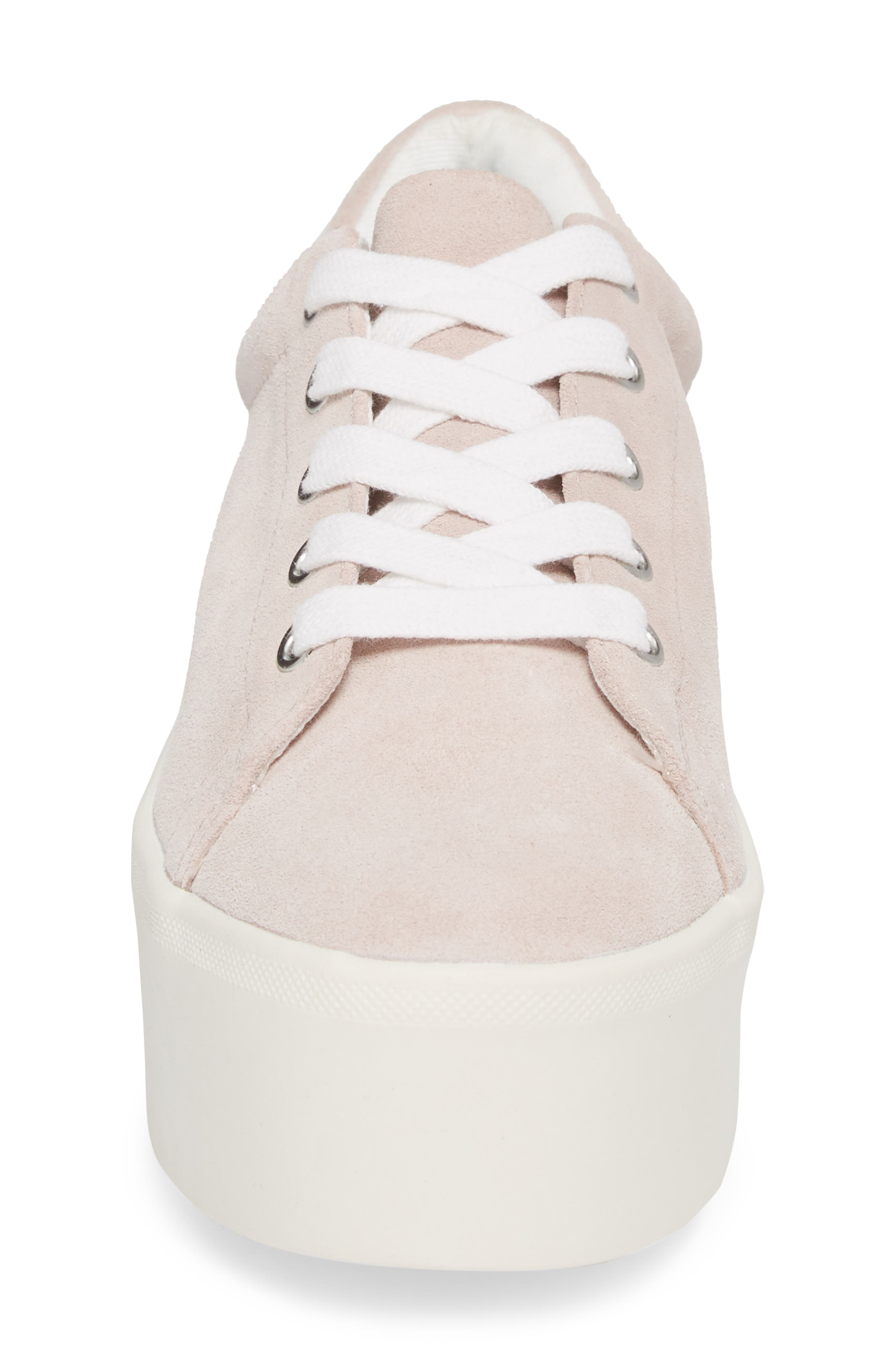 Palmer Sneaker,                             Alternate thumbnail 4, color,                             Pink Suede