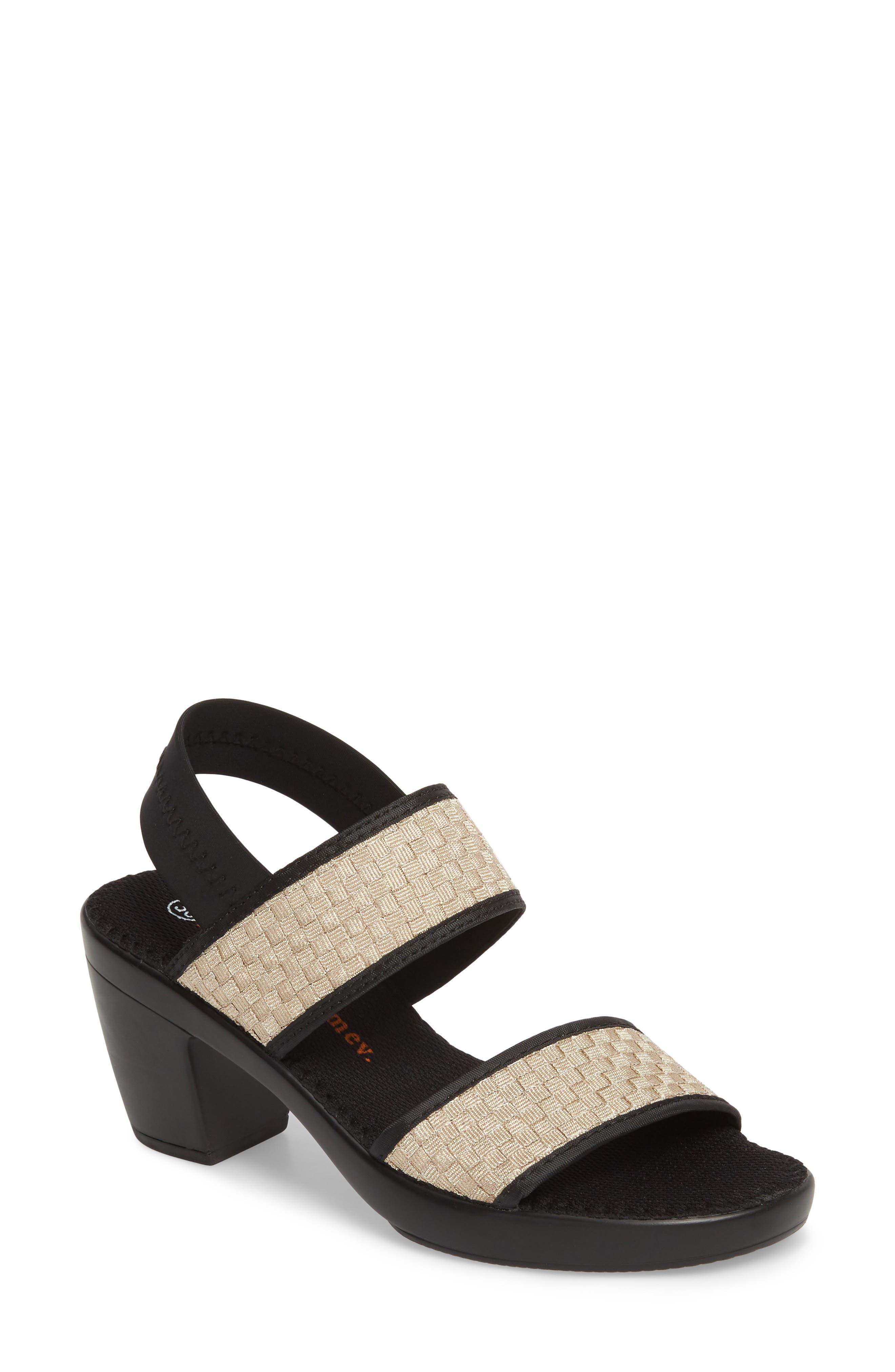 Alternate Image 1 Selected - bernie mev. Santorini Sandal (Women)
