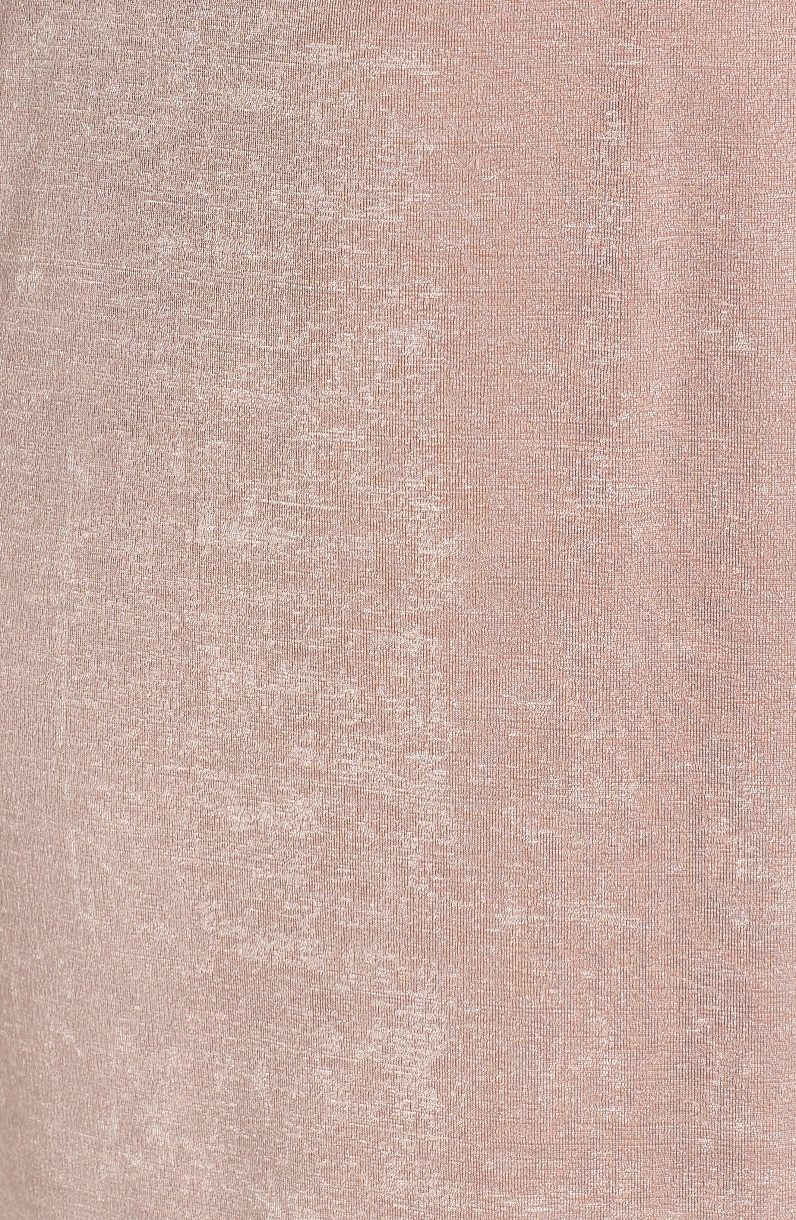 Wrap Dress,                             Alternate thumbnail 6, color,                             Blush