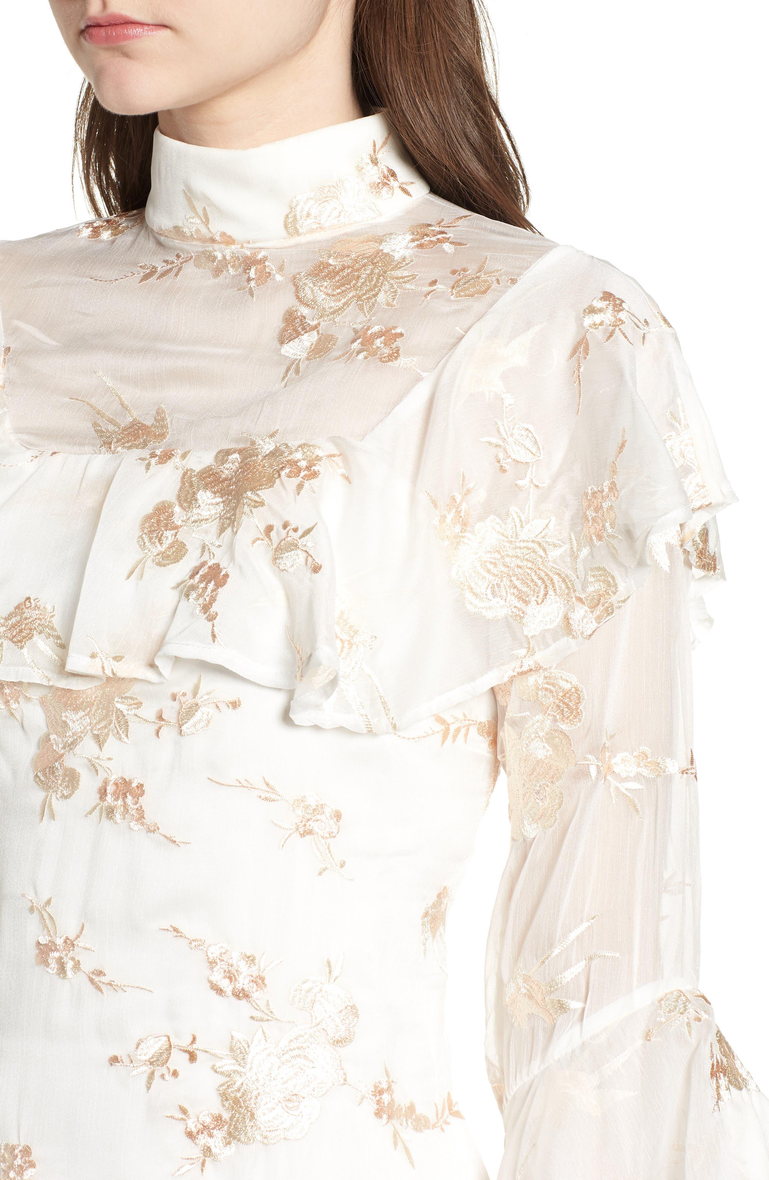 Composition Dress,                             Alternate thumbnail 6, color,                             White