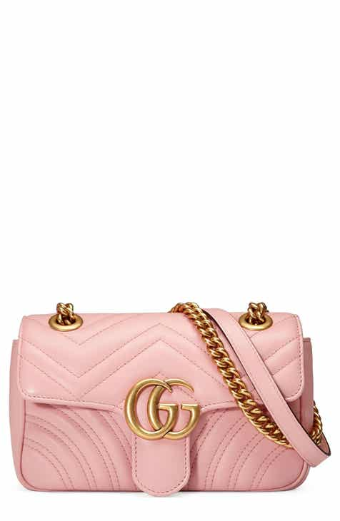 3c5537f9935 Gucci Mini GG Marmont 2.0 Matelassé Leather Shoulder Bag