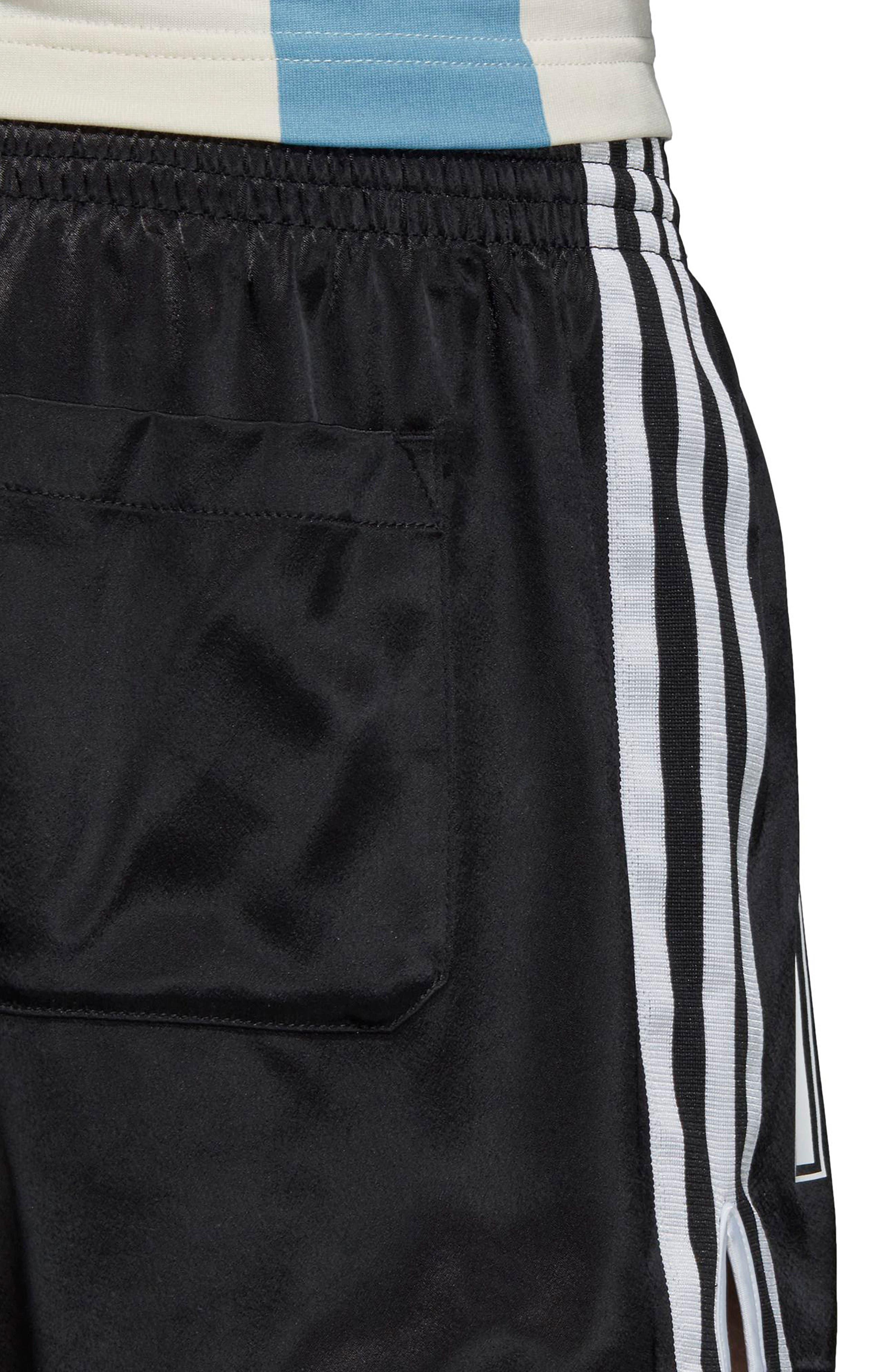 adidas Original Argentina 1987 Shorts,                             Alternate thumbnail 4, color,                             Black