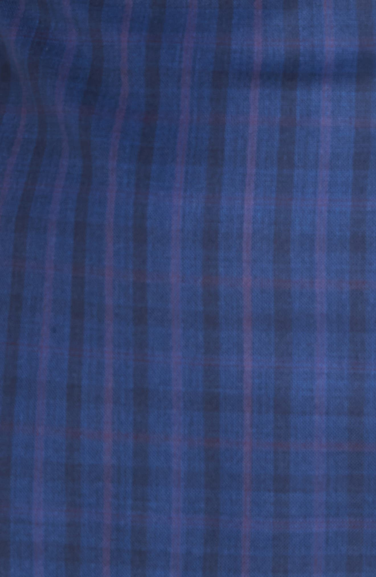 Jay Trim Fit Windowpane Wool Sport Coat,                             Alternate thumbnail 5, color,                             Blue