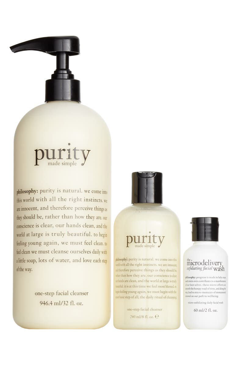 philosophy purity trio set ($87 Value) | Nordstrom
