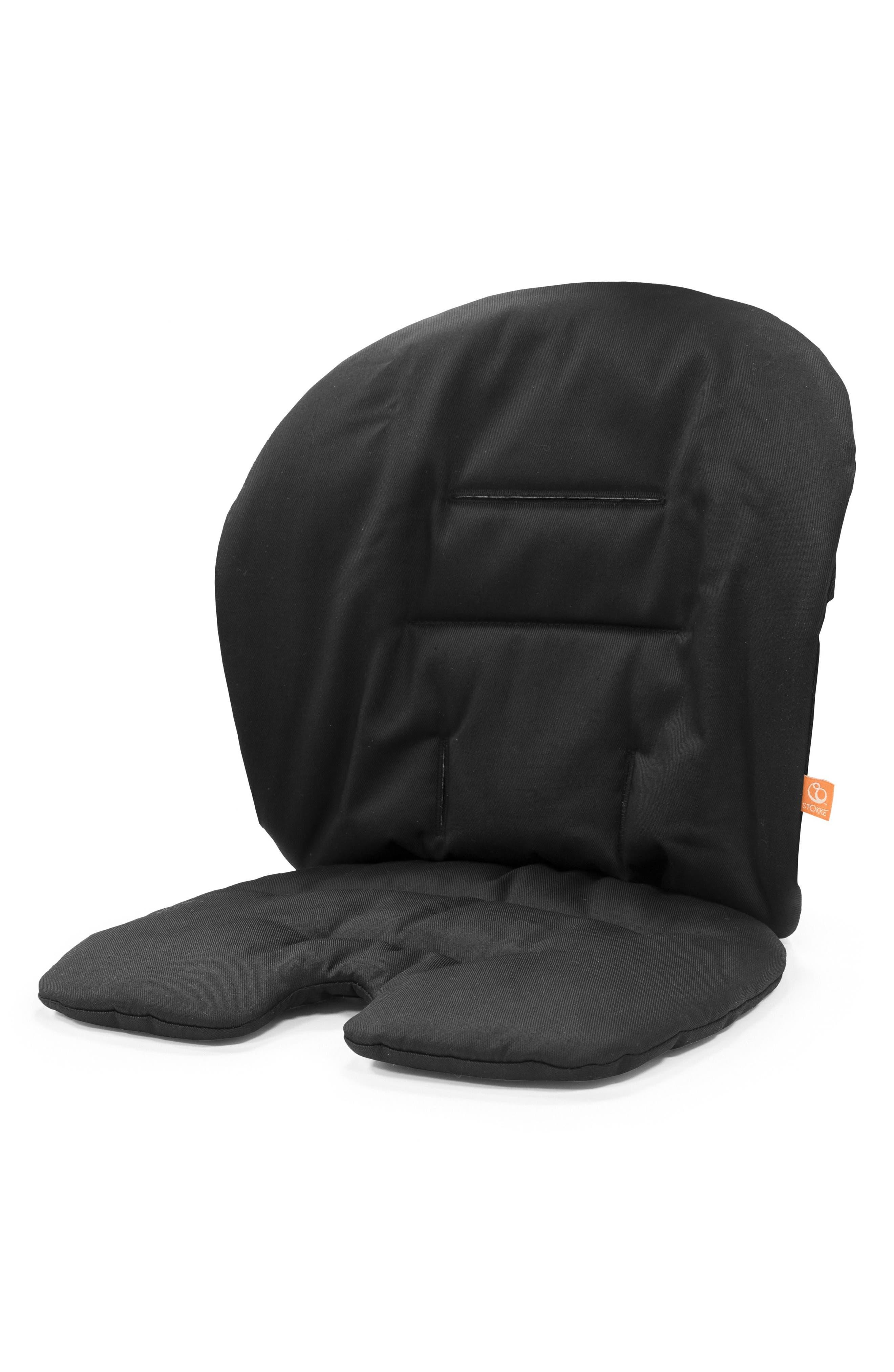 'Steps<sup>™</sup>' Seat Cushion,                             Main thumbnail 1, color,                             Black