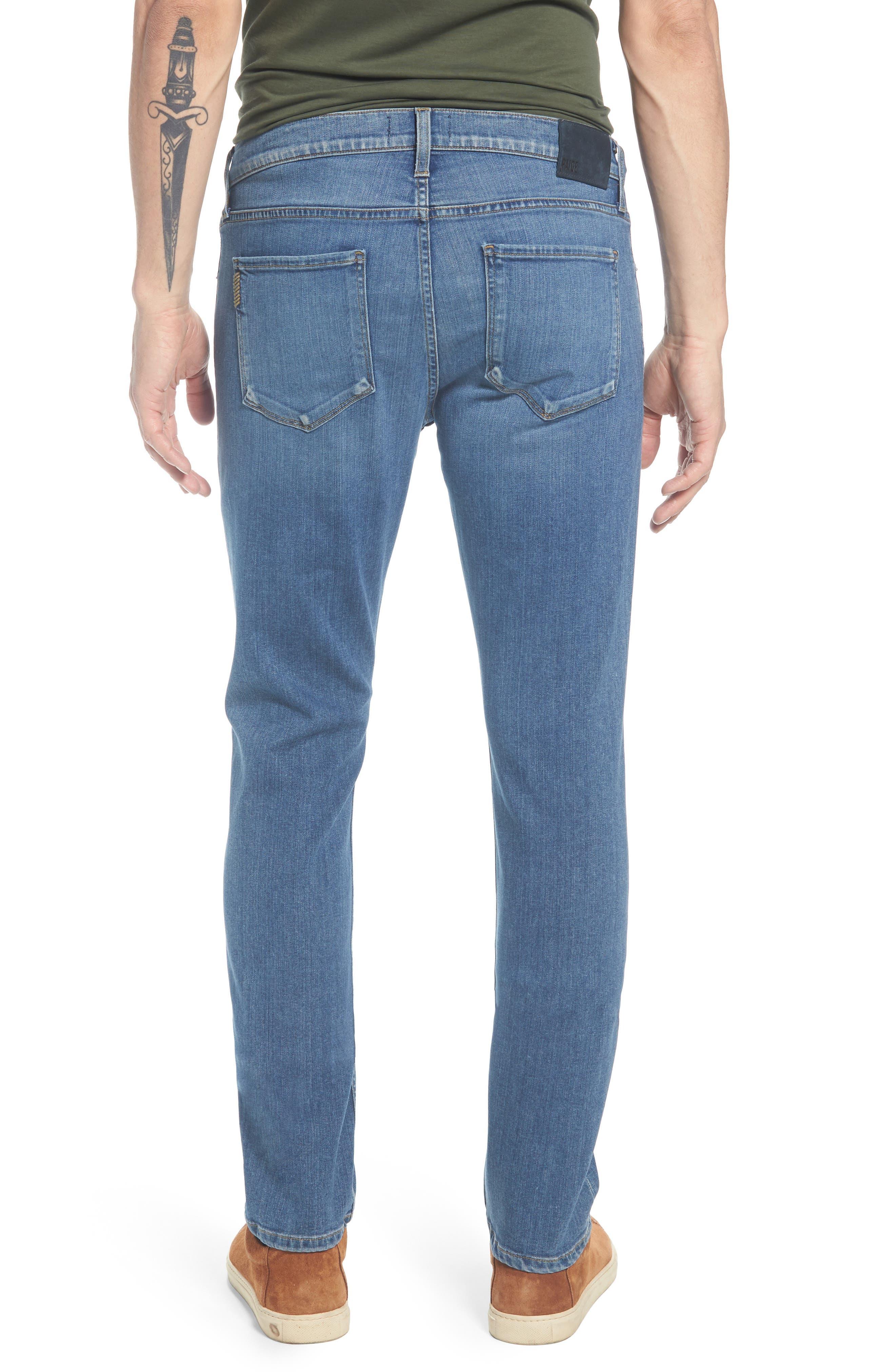 Transcend - Federal Slim Straight Leg Jeans,                             Alternate thumbnail 2, color,                             Caine