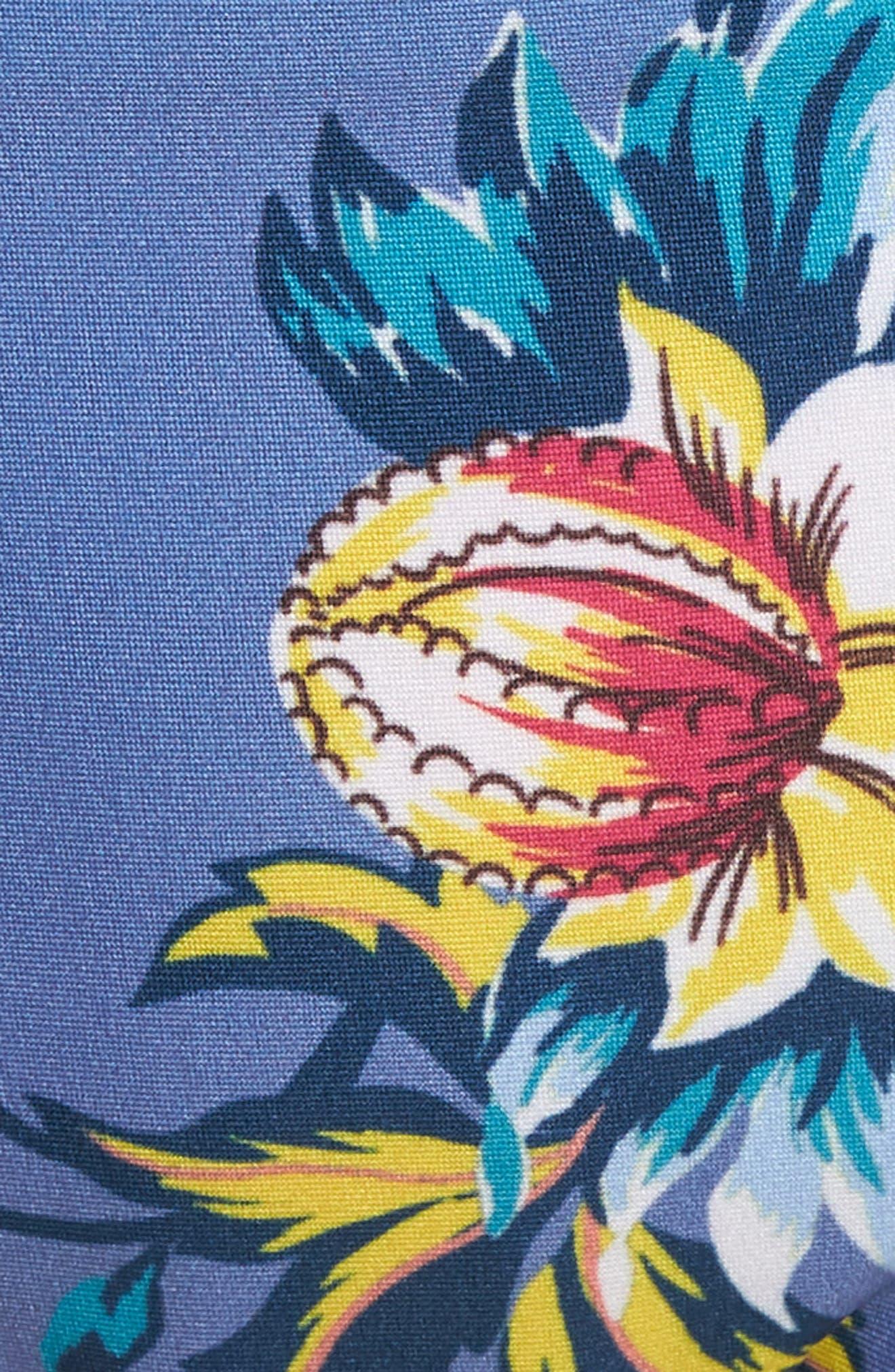 Victoria Garden Reversible Bikini Bottoms,                             Alternate thumbnail 9, color,                             Purple/ Blue Multi
