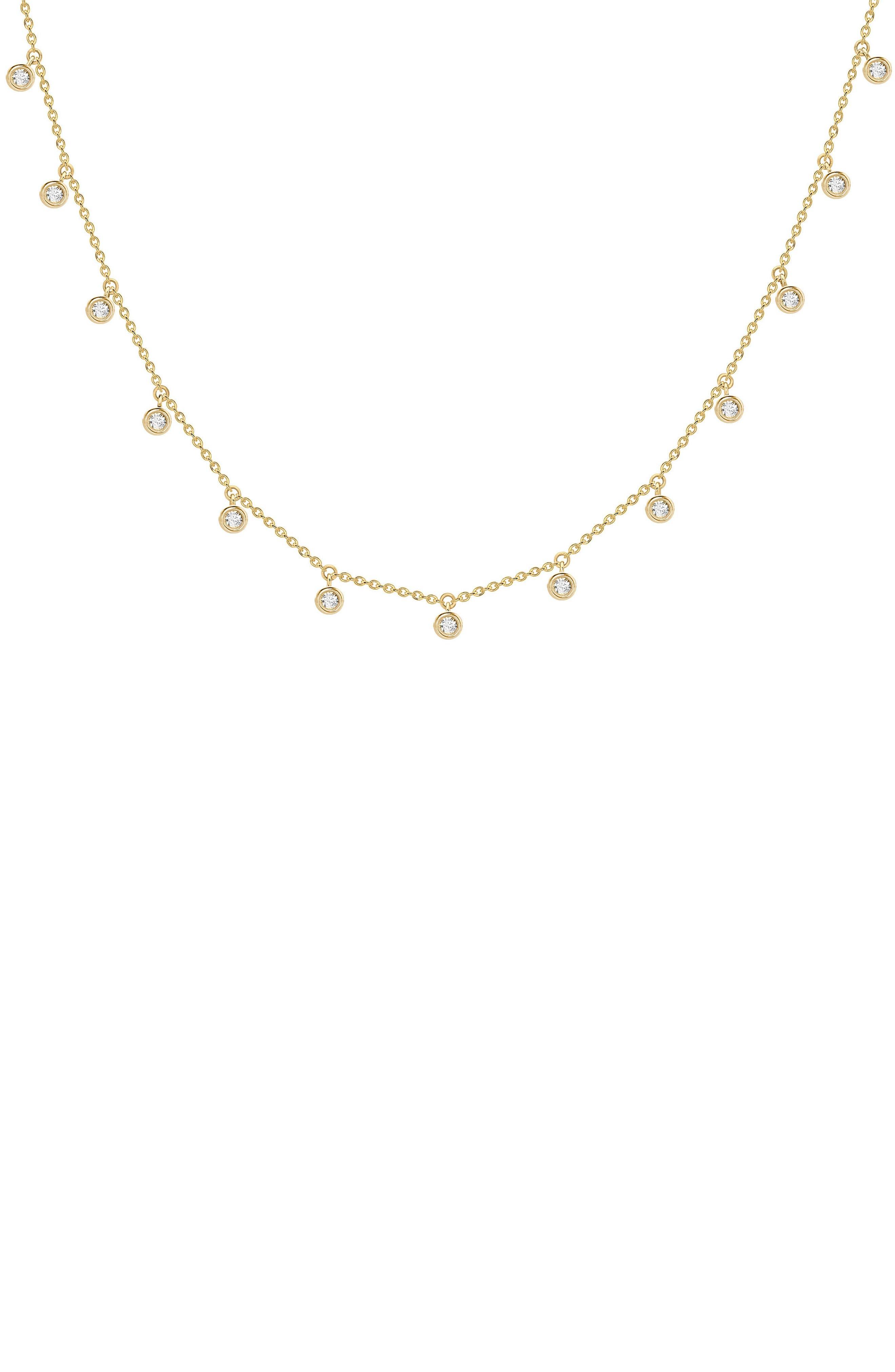 Interstellar Necklace,                         Main,                         color, Gold