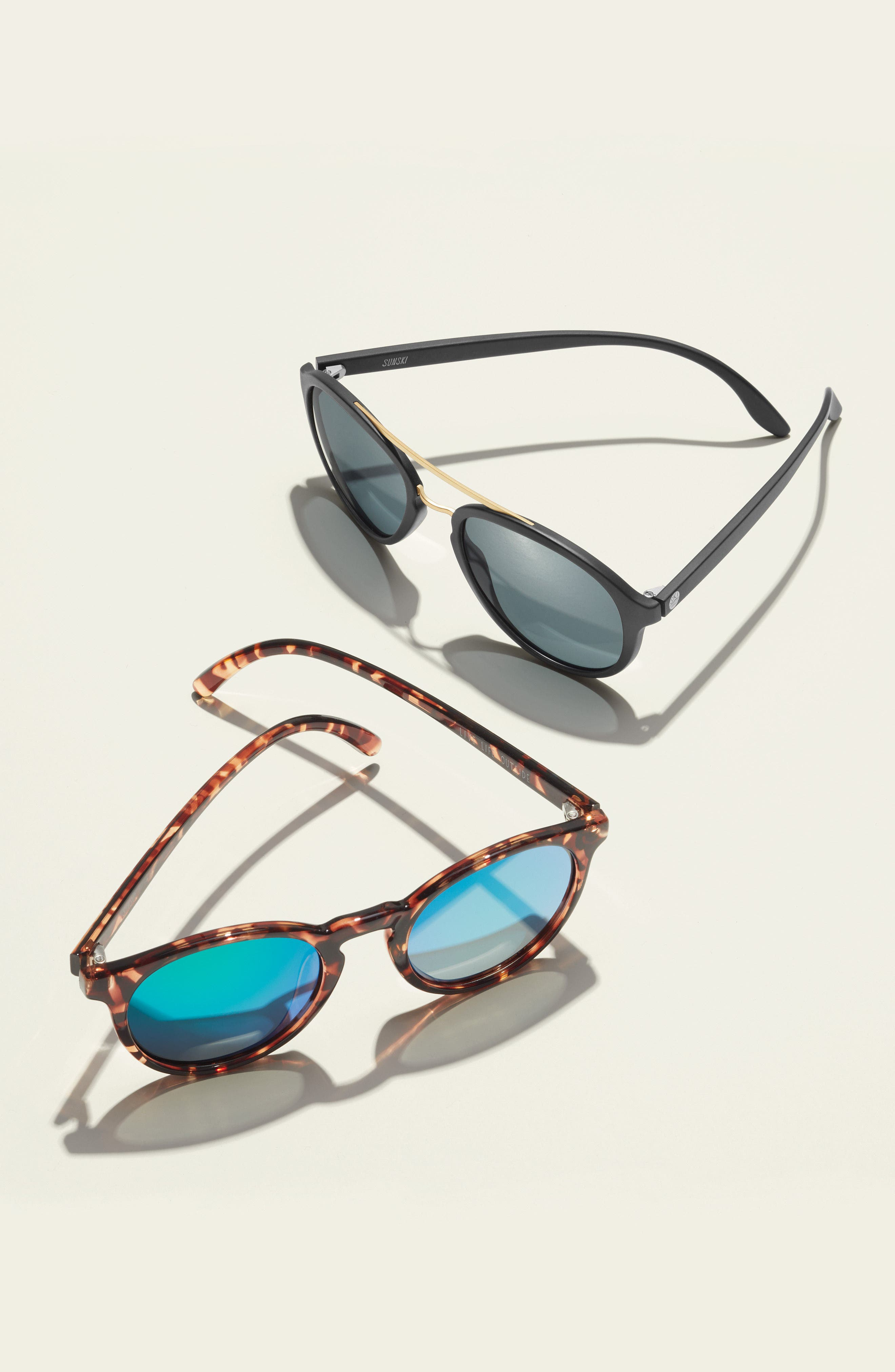 Dipsea 48mm Polarized Sunglasses,                             Alternate thumbnail 5, color,