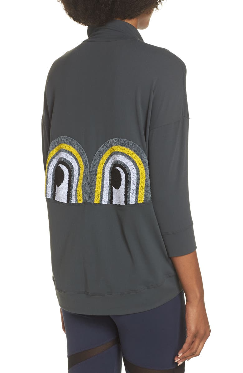 BoomBoom Athletica Novelty Eye Sweatshirt