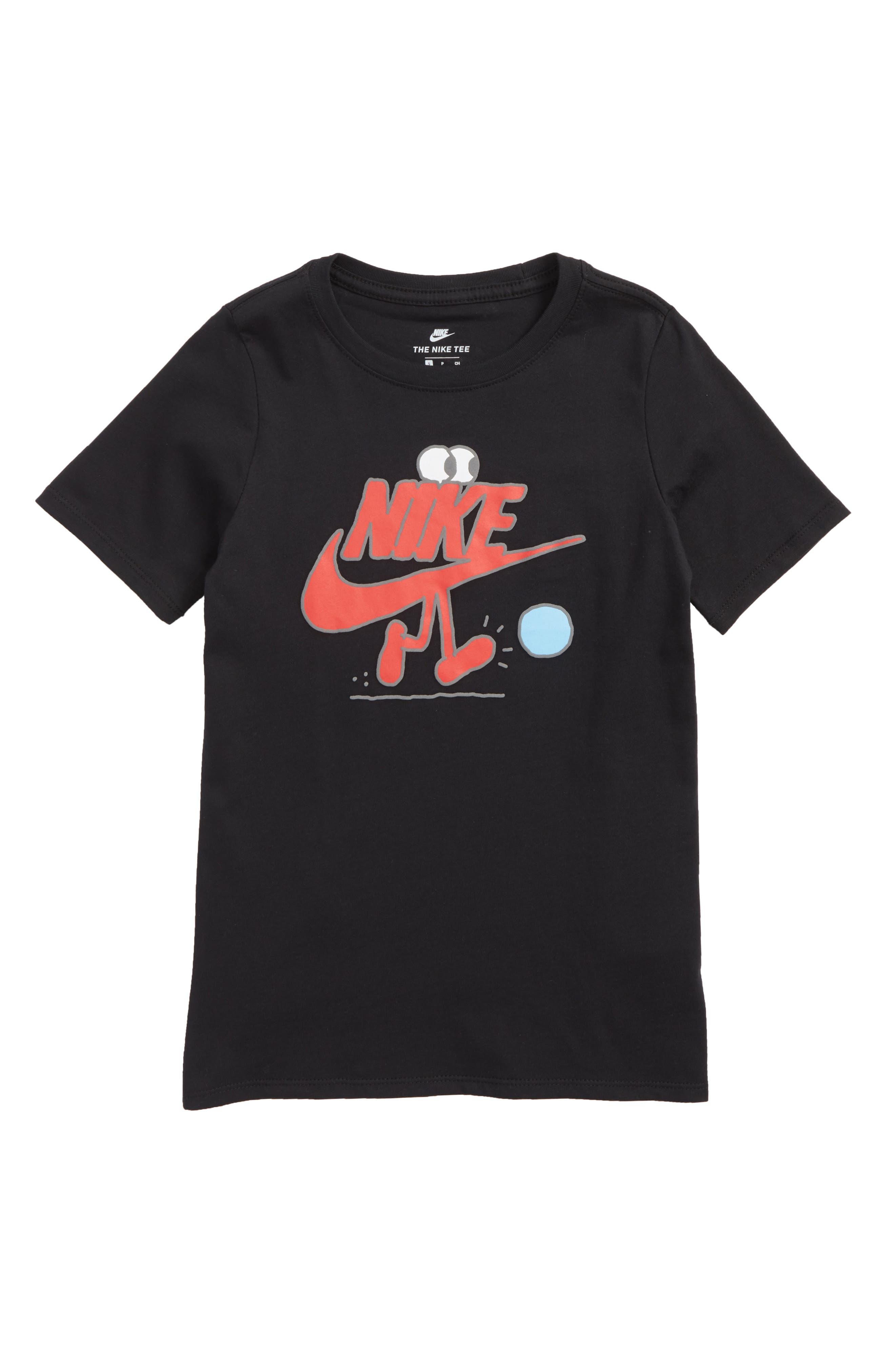 Sportswear Futura Dude Graphic T-Shirt,                             Main thumbnail 1, color,                             Black
