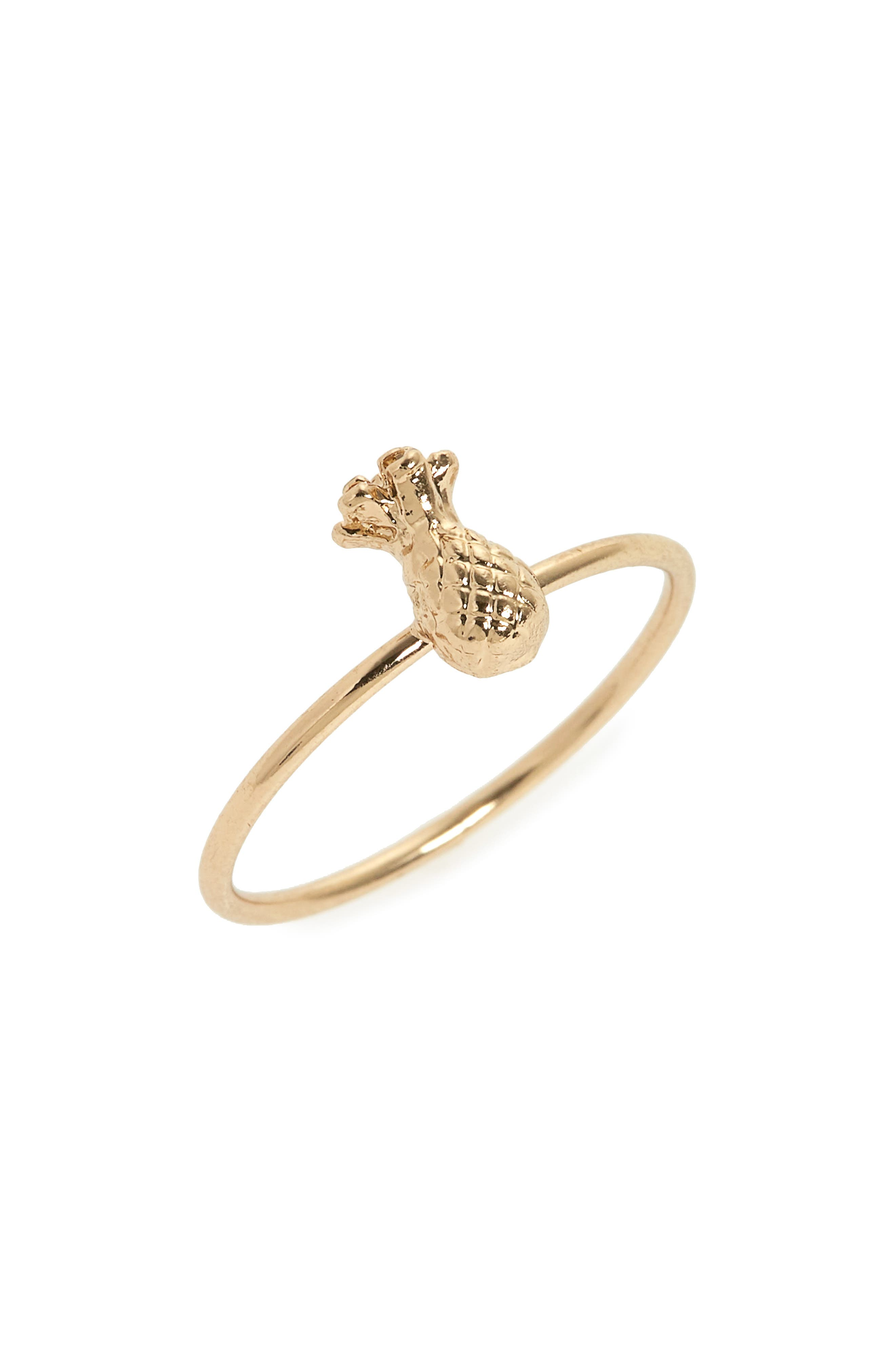 Topshop Pineapple Ring