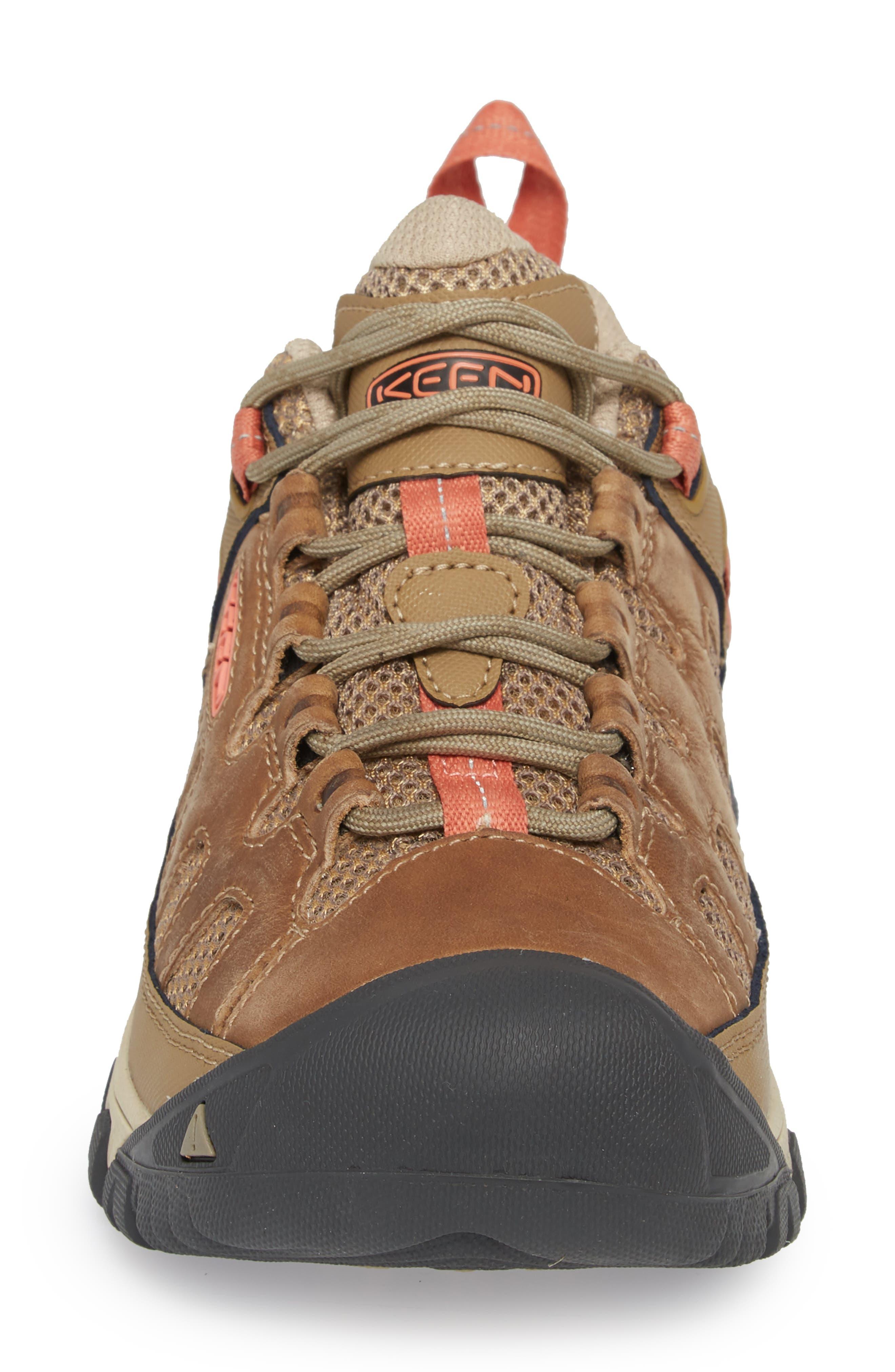 Targhee Vent Hiking Shoe,                             Alternate thumbnail 4, color,                             Sandy/ Cornstalk Leather