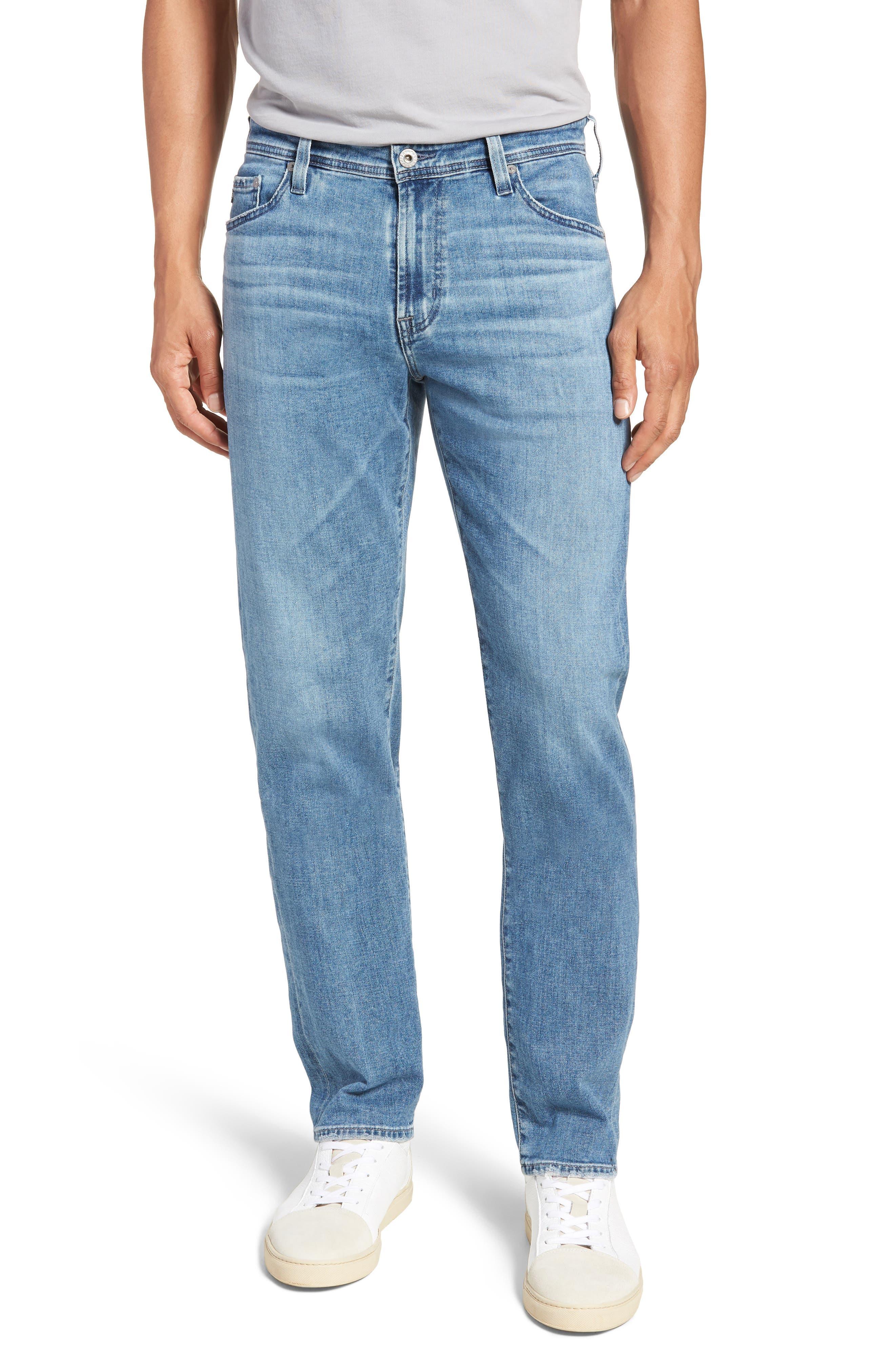 Graduate Slim Straight Leg Jeans,                             Main thumbnail 1, color,                             Sandpiper