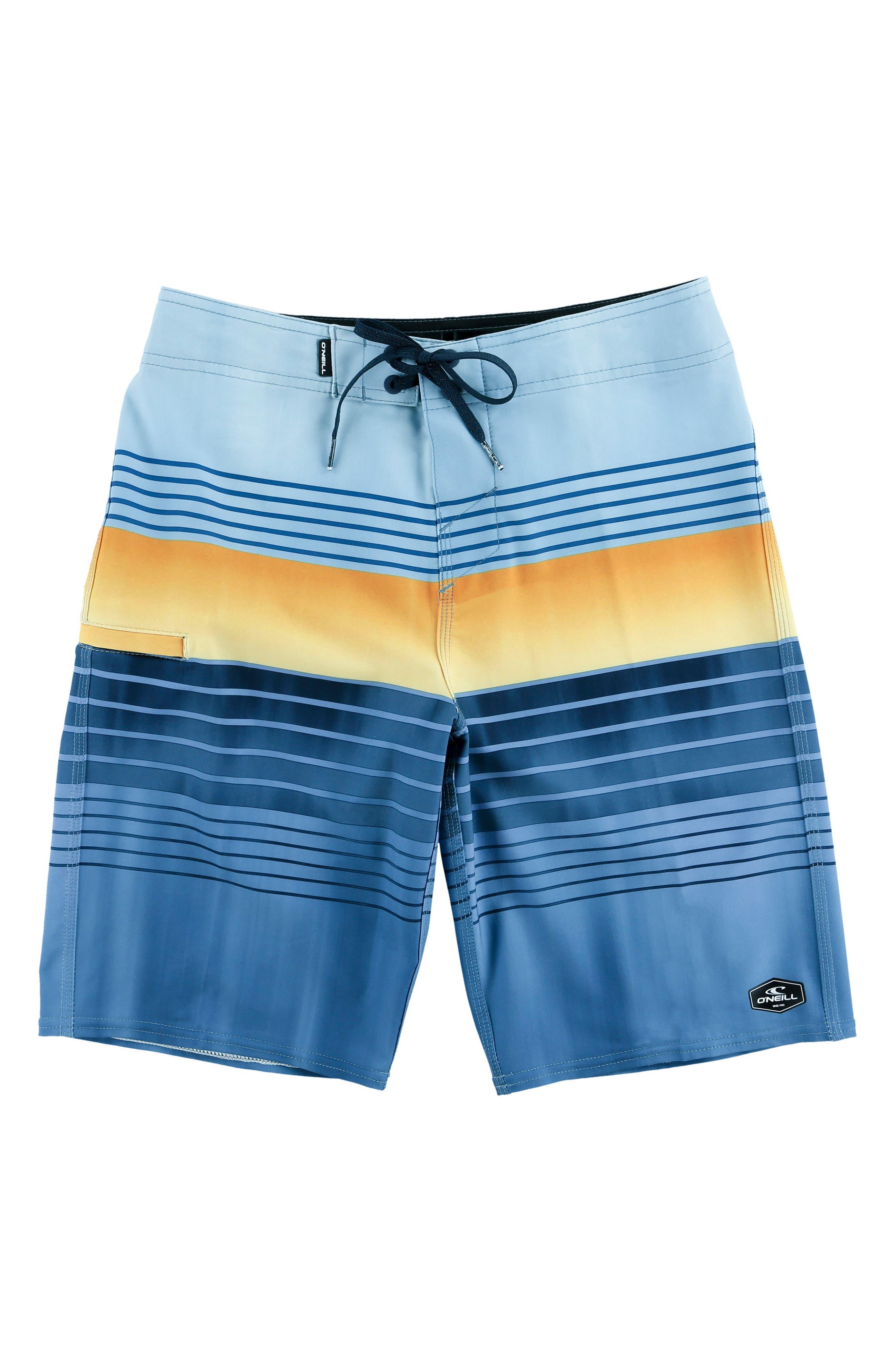 Hyperfreak Heist Board Shorts,                         Main,                         color, Harbor Blue