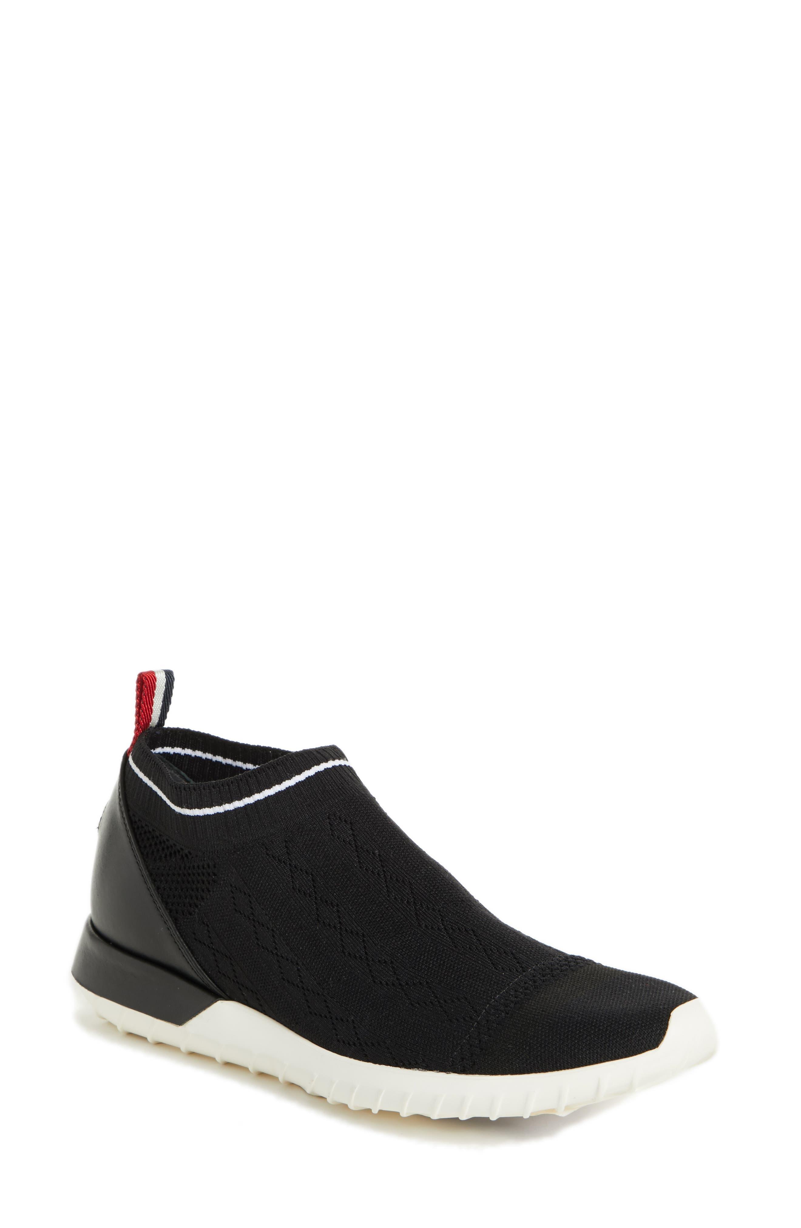 Moncler Giroflee Knit Sock Sneaker (Women)